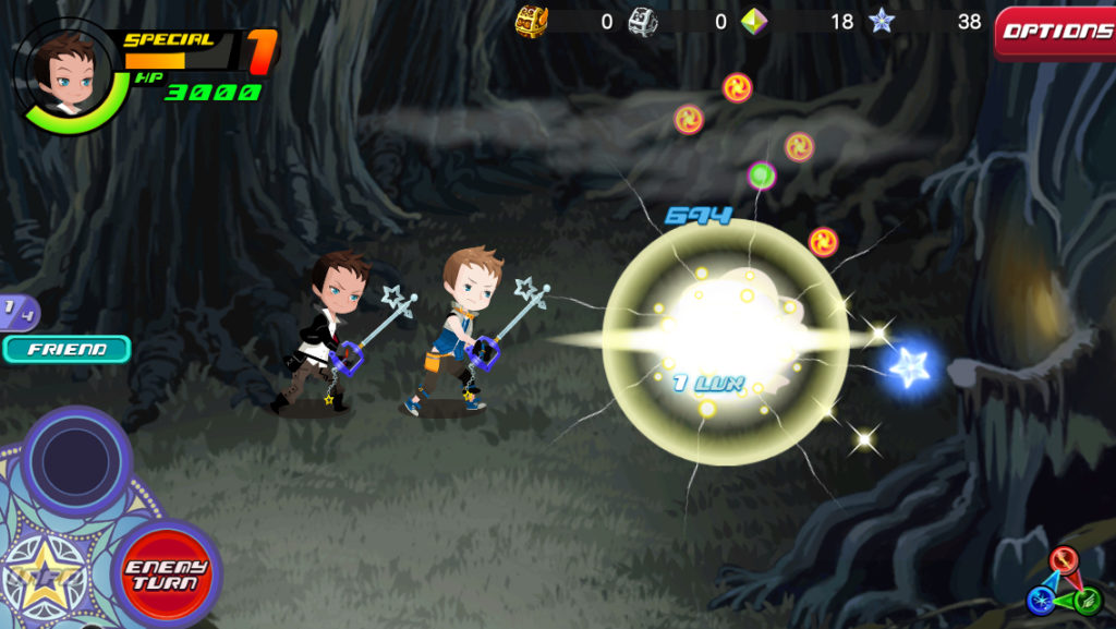 Kingdom Hearts Union X [Cross] friend assist