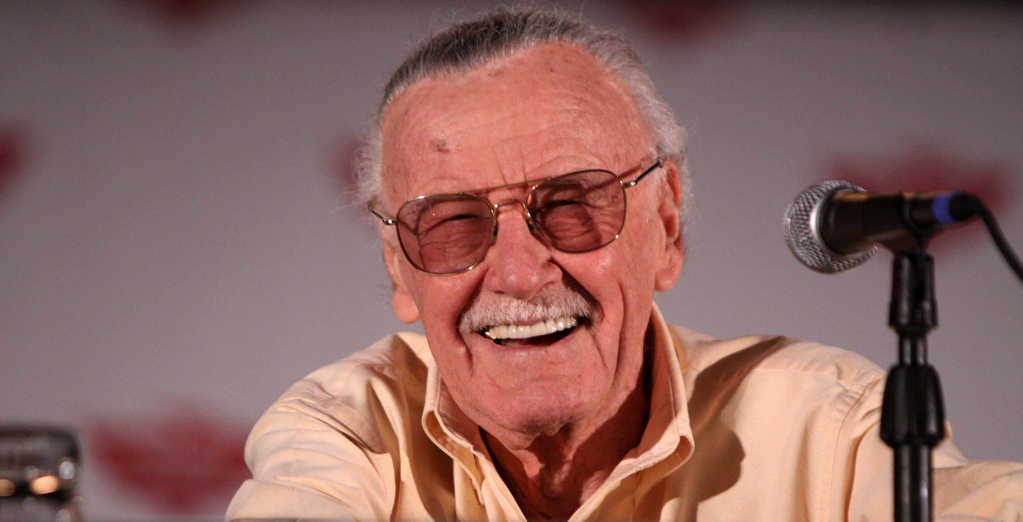 Stan Lee on panel