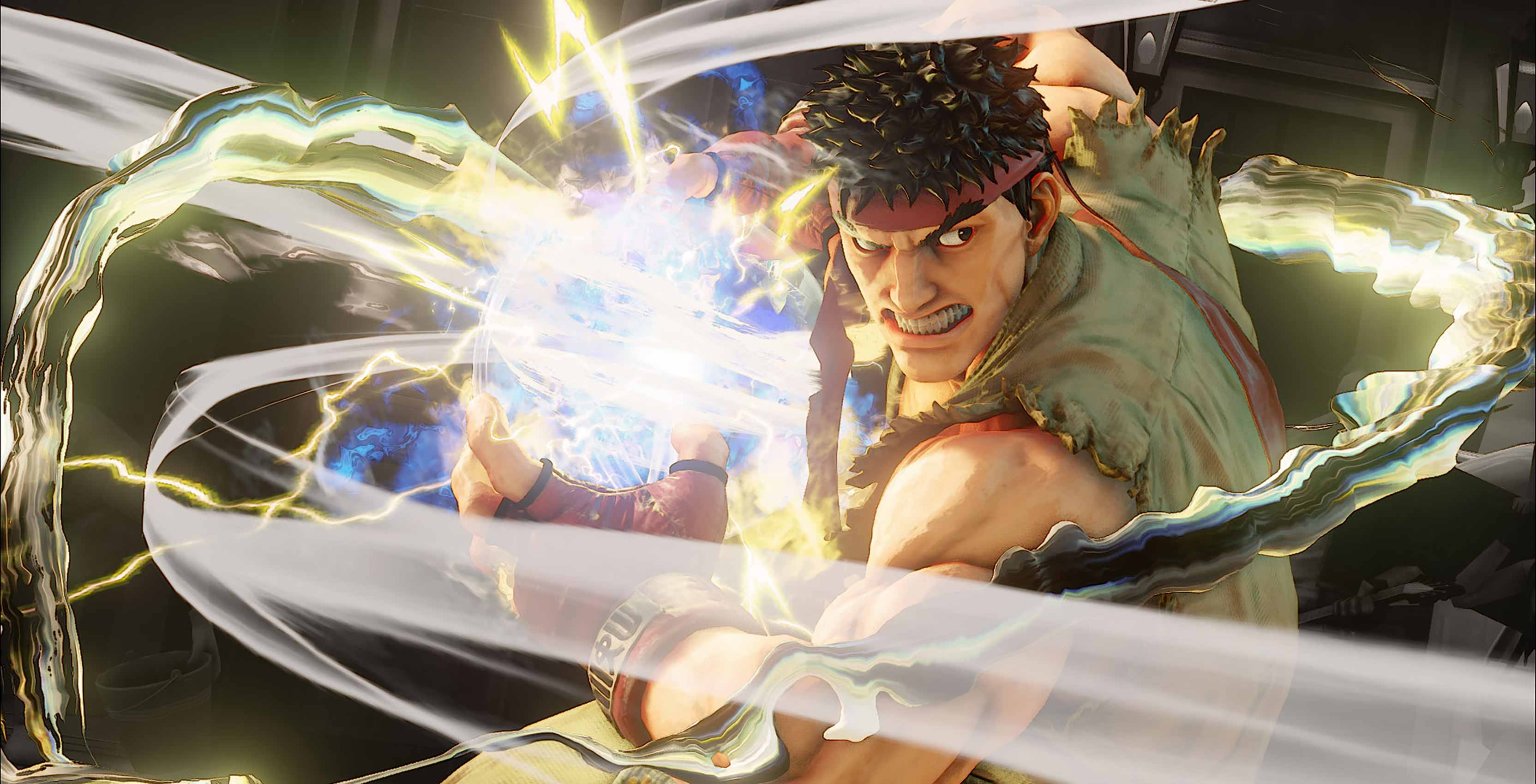 Street Fighter V Ryu Hadoken