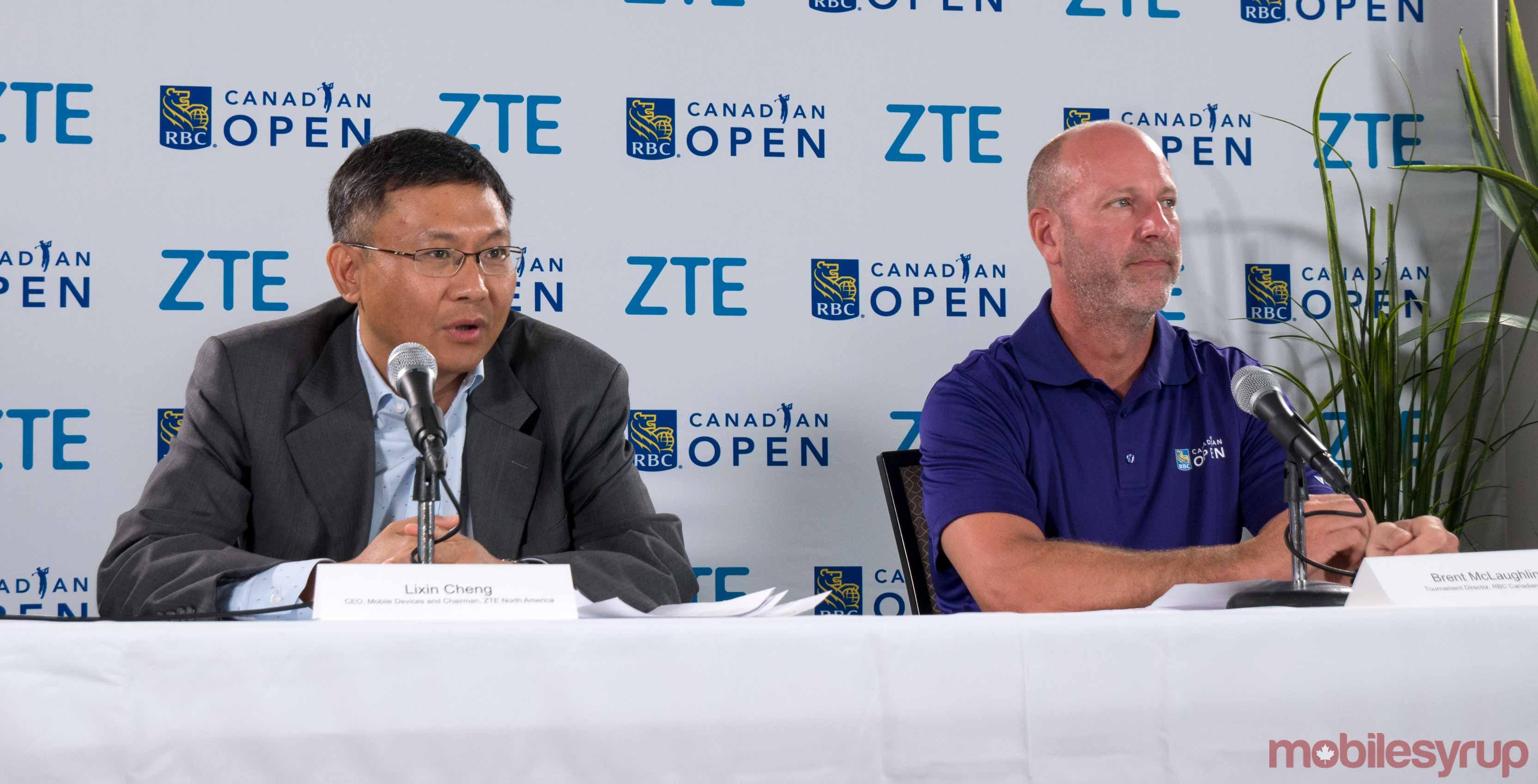 ZTE Canadian Open