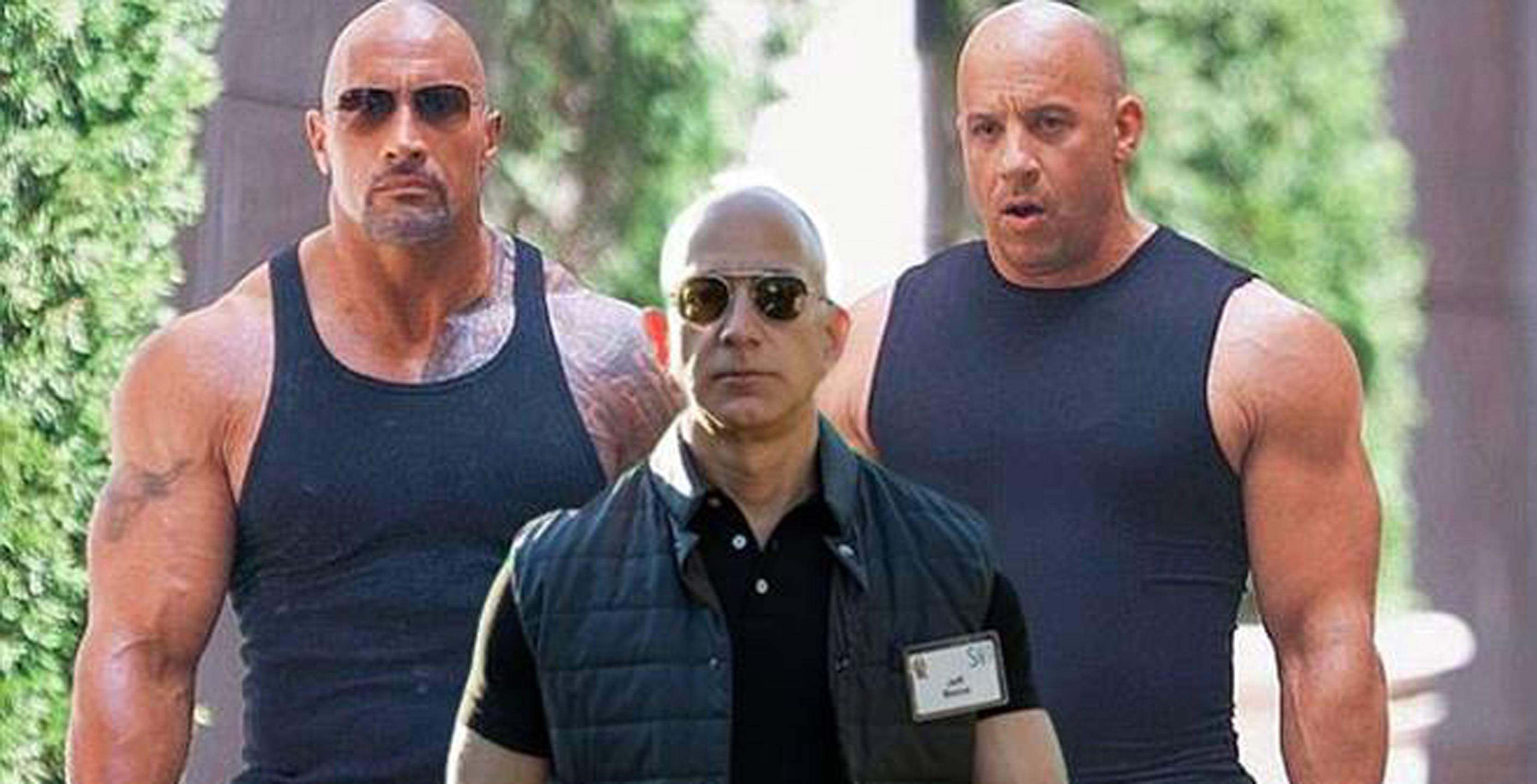 Swole Jeff Bezos