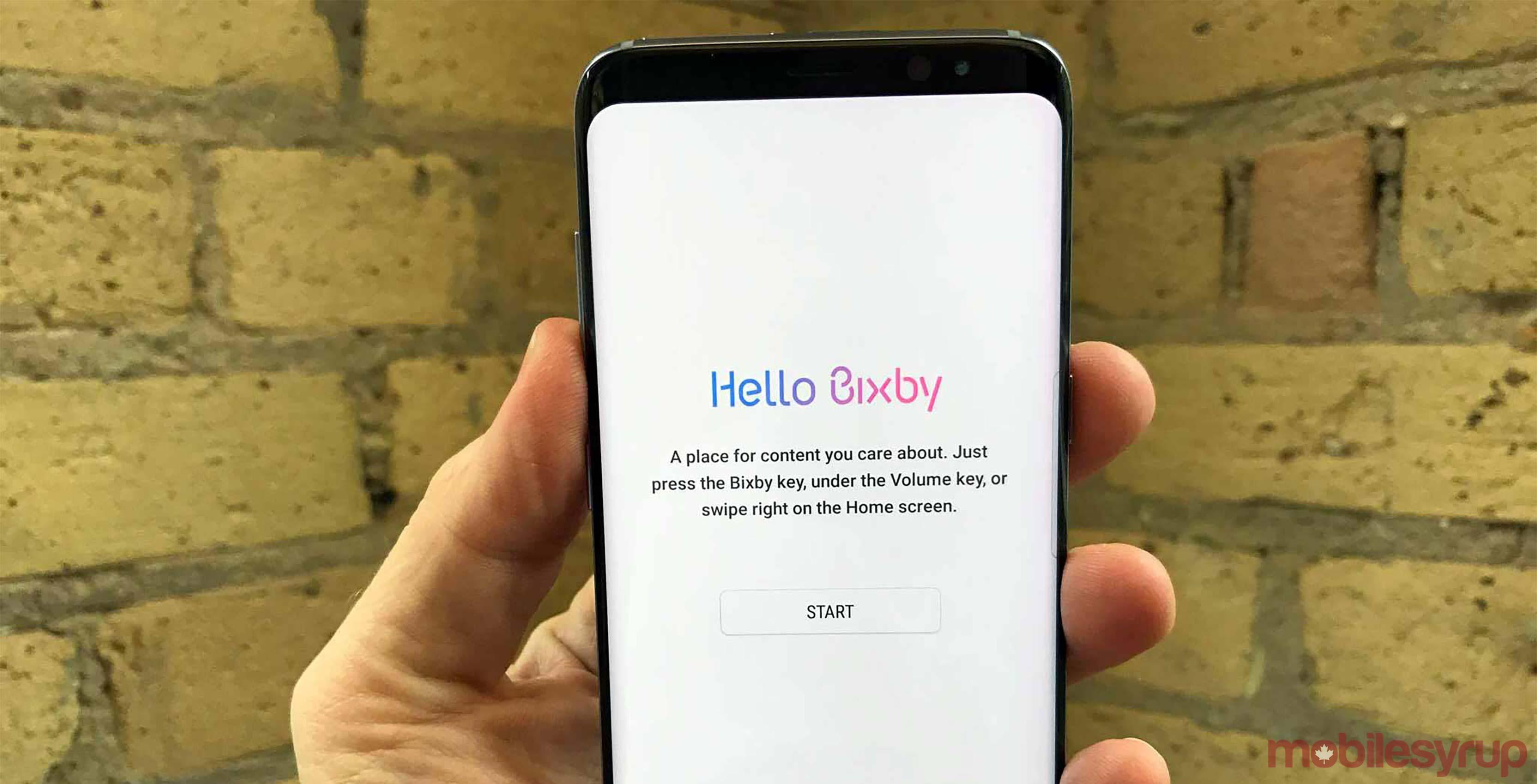 Bixby on Samsung Galaxy S8