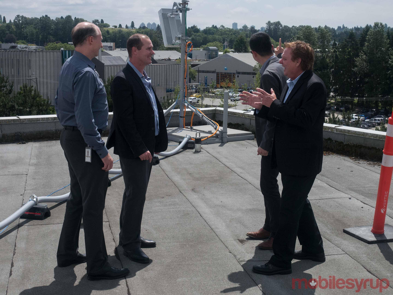 Huawei executives talking 5G
