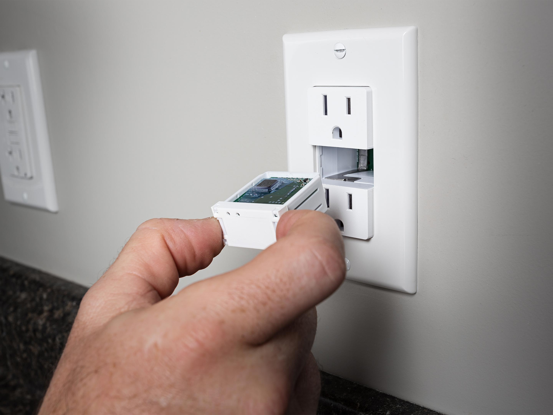 Swidget modular wall plug