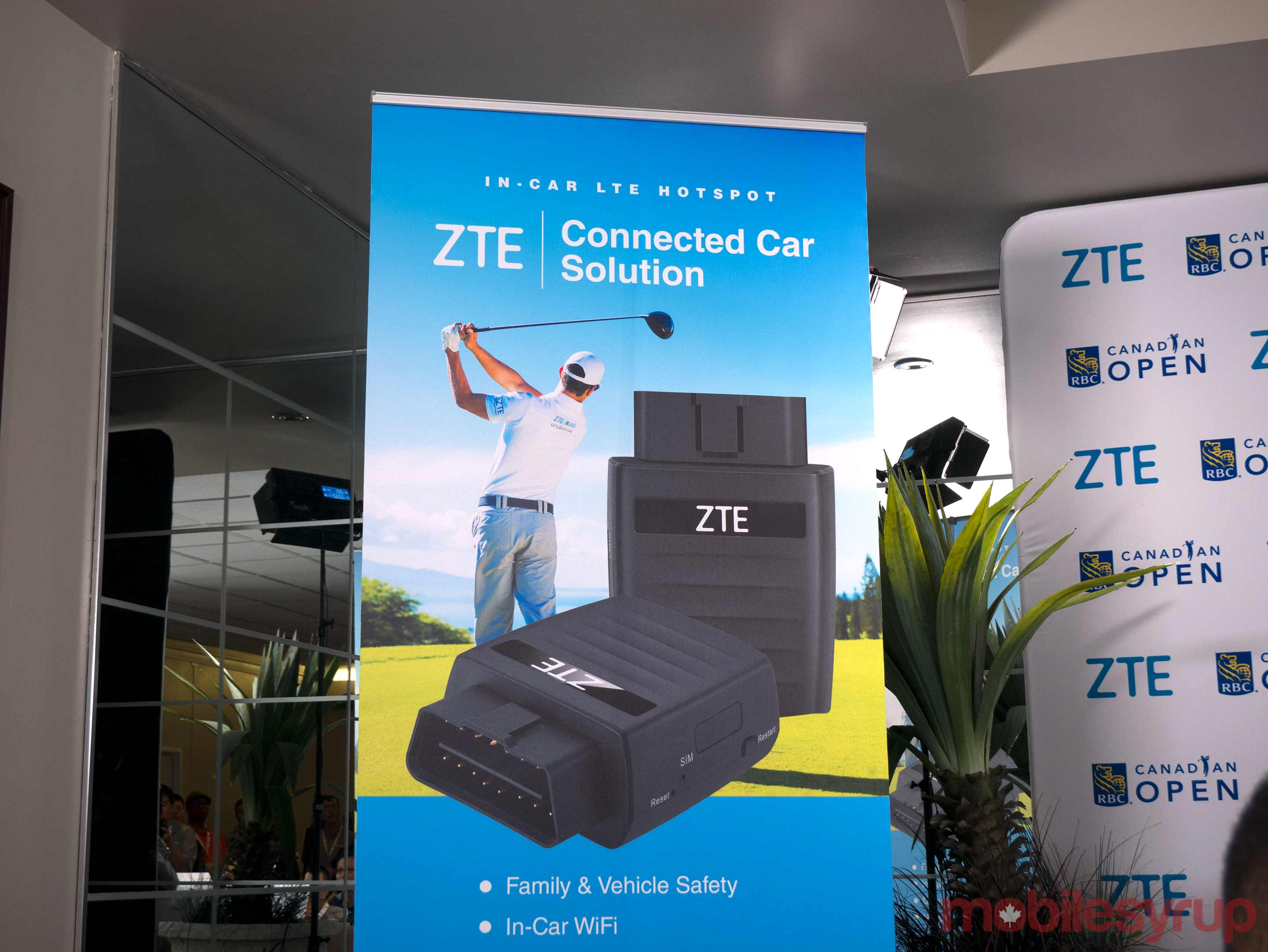 ZTE connected car