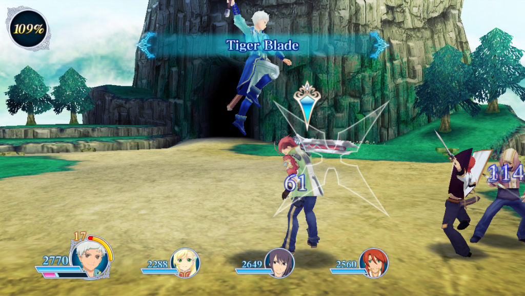 Tales of the Rays combat