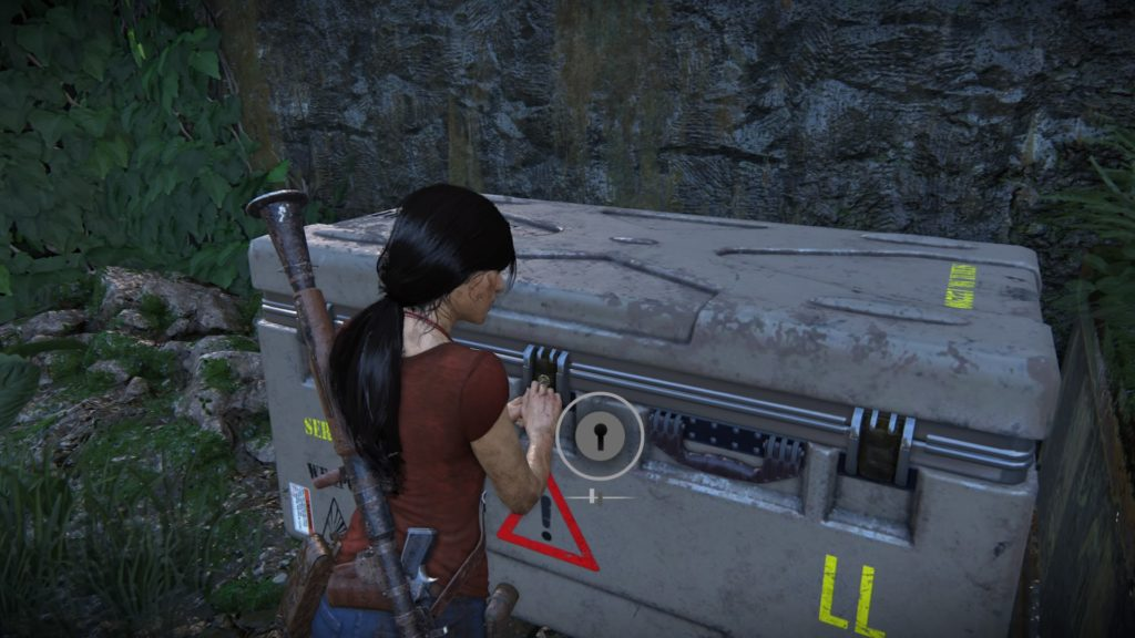 Uncharted The Lost Legacy lock pick