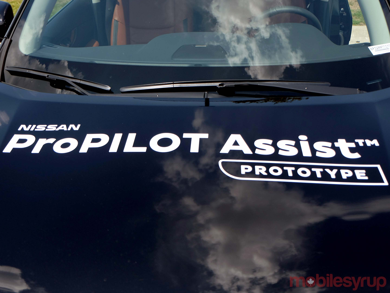 Nissan ProPilot hood