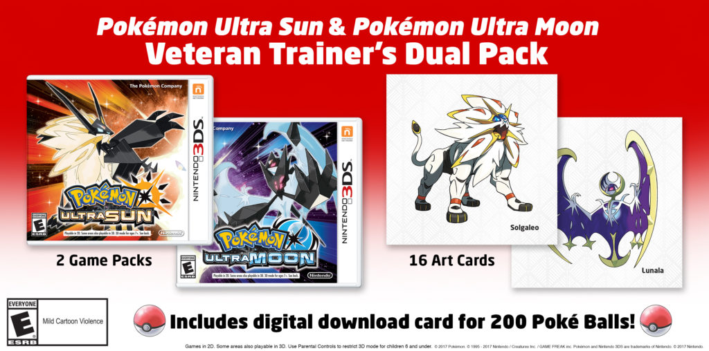 Pokémon Ultra Sun and Ultra Moon Dual Pack