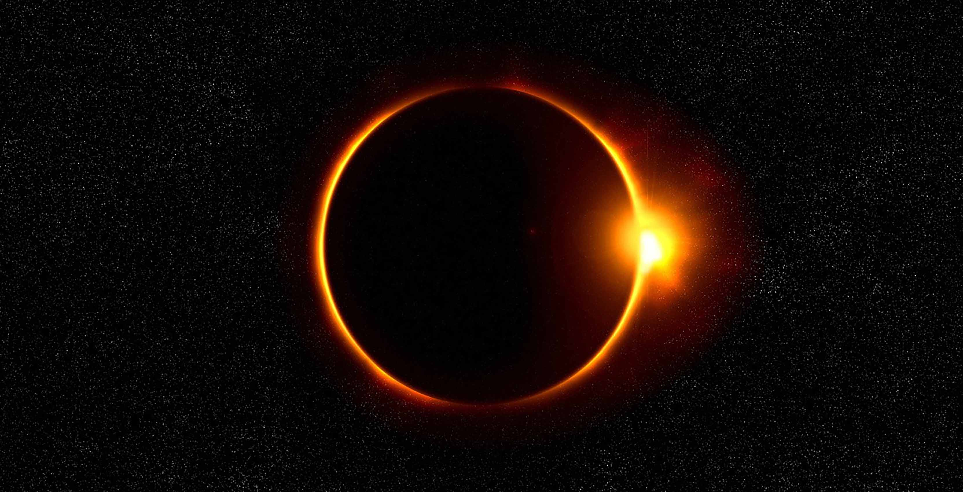 Solar Eclipse black