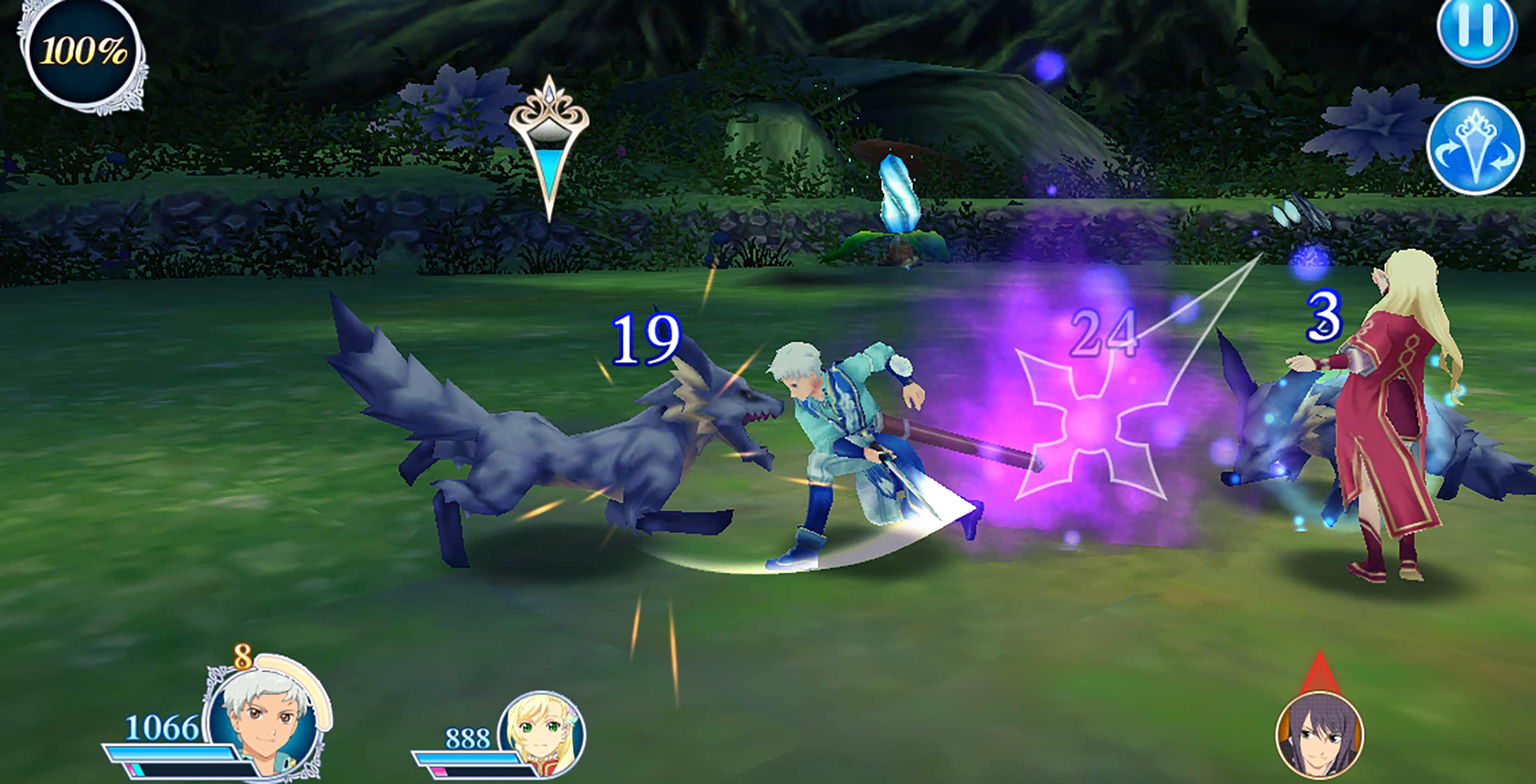 Tales of the Rays combat wolves