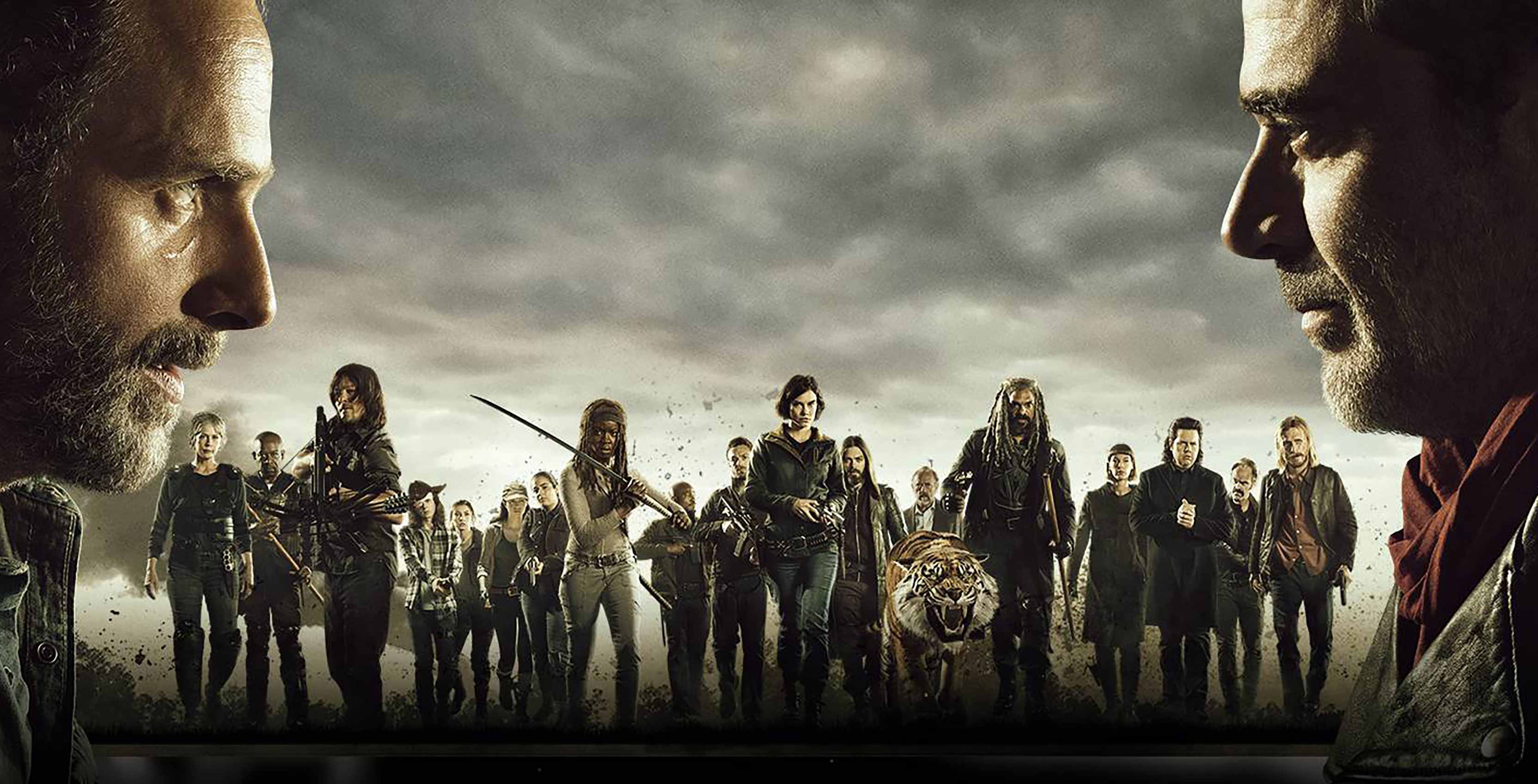 The Walking Dead Rick vs Negan