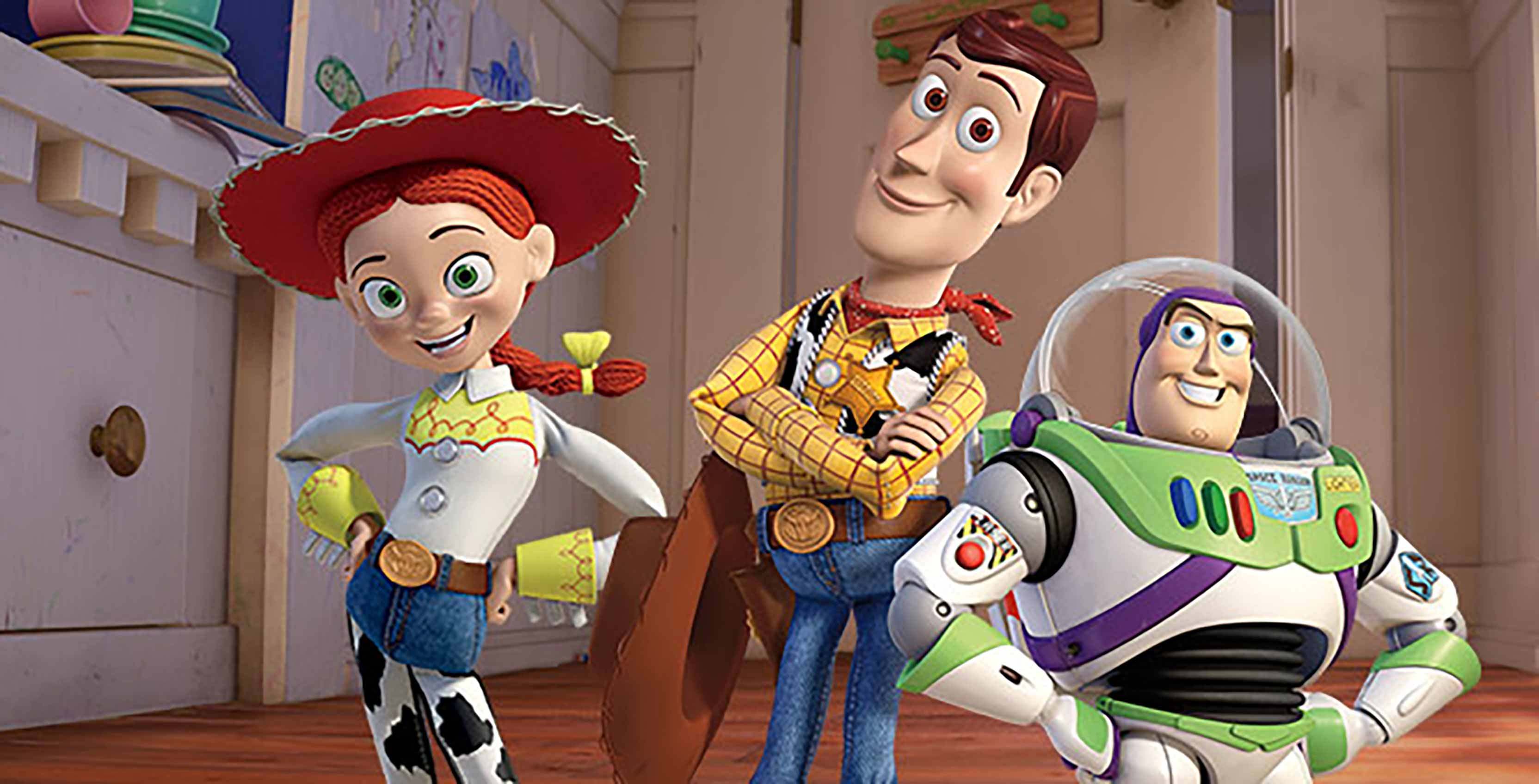 Toy Story Jessie, Woody, Buzz