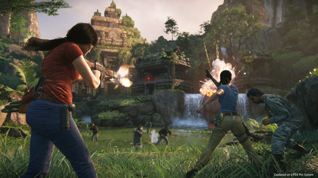 Uncharted The Lost Legacy combat