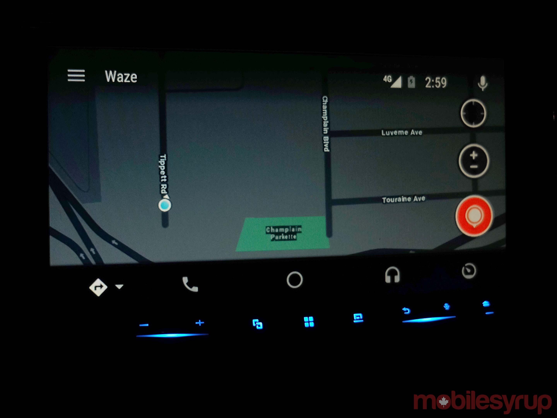 Waze night mode