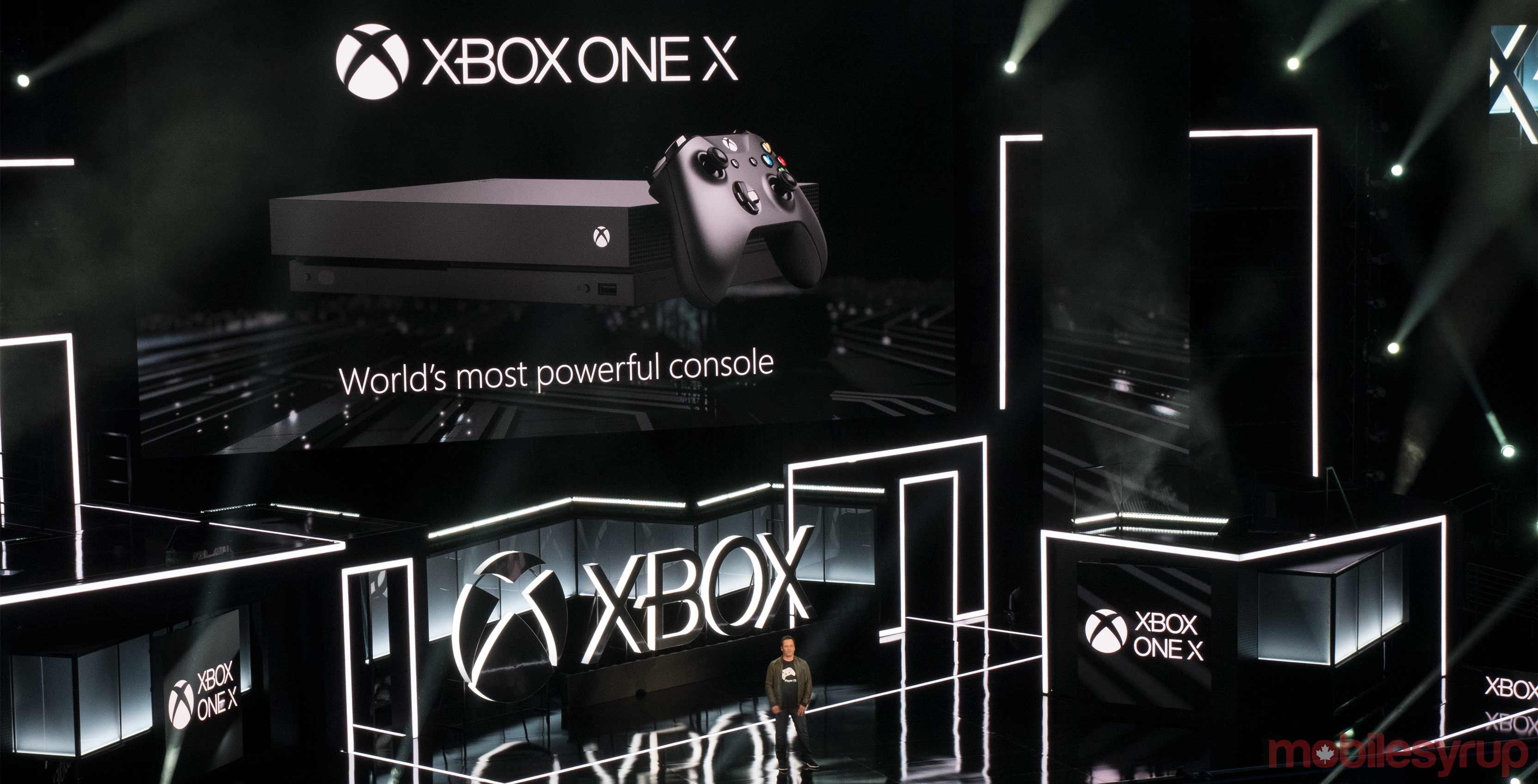 Xbox One X E3 Phil Spencer