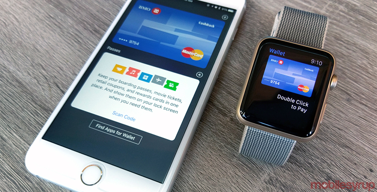 Apple Pay on phone and watch