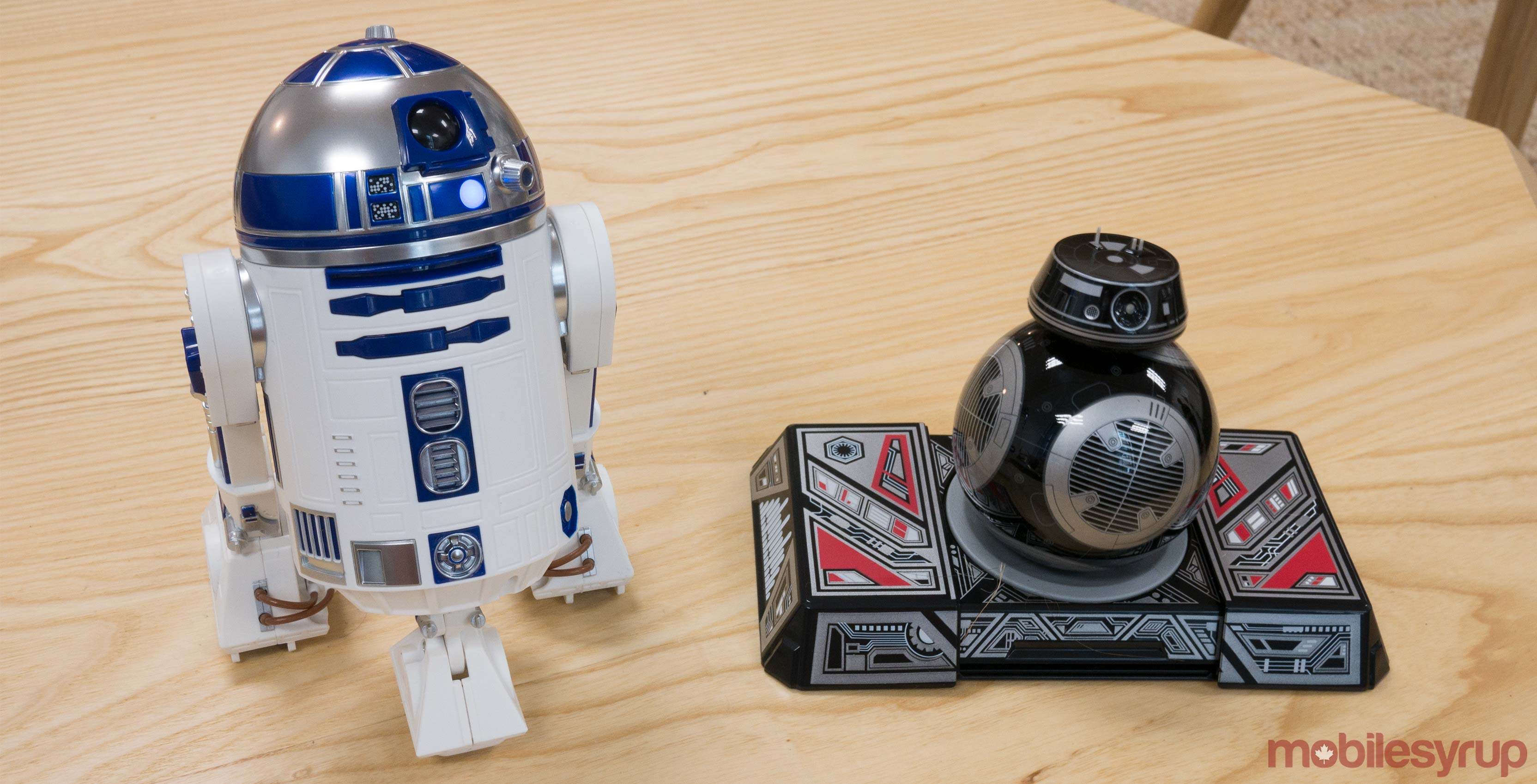 BB-9E and R2-D2