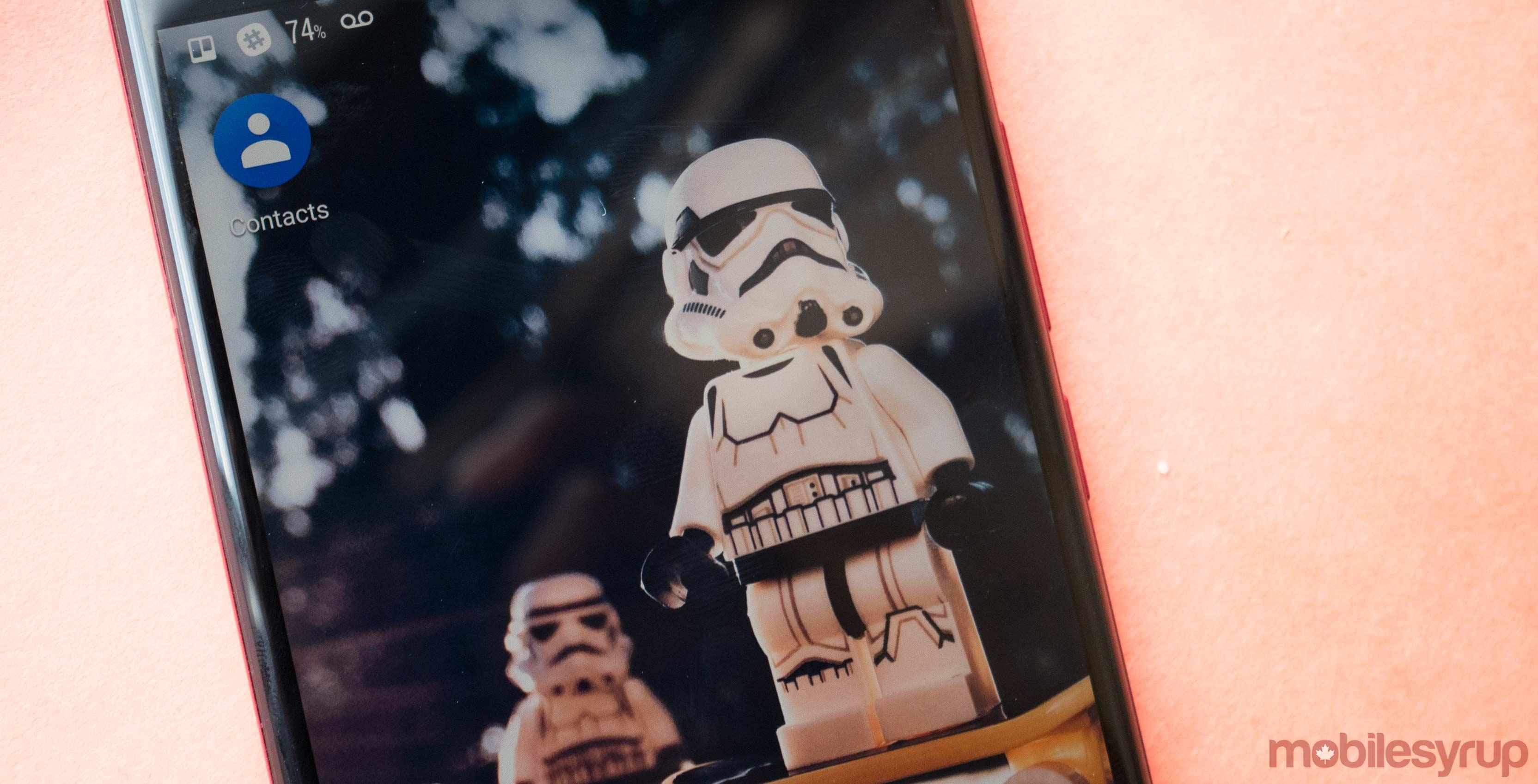 Google contact on HTC U11