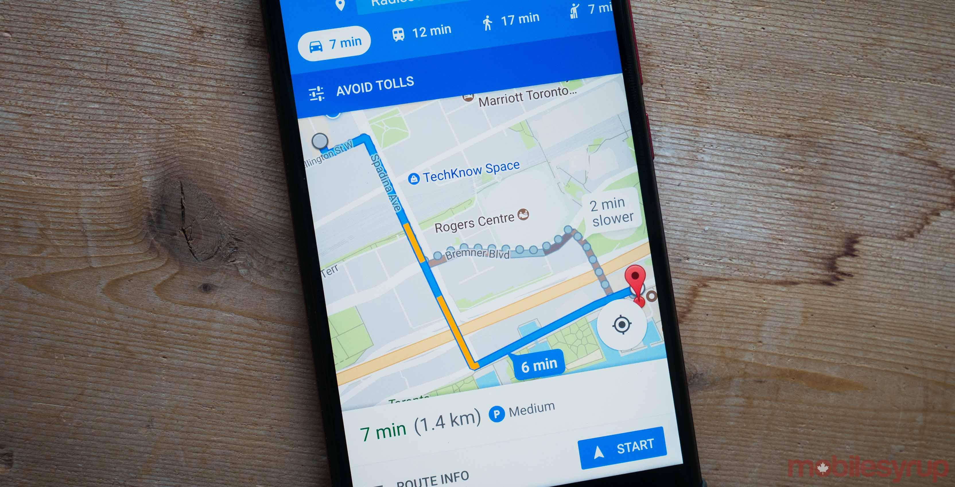Google maps parking icon
