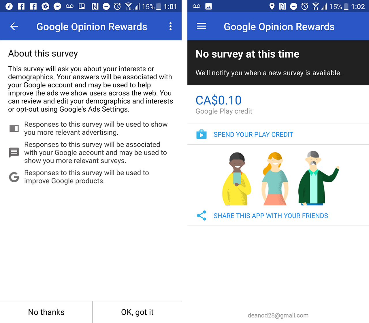 Google Opinions Rewards