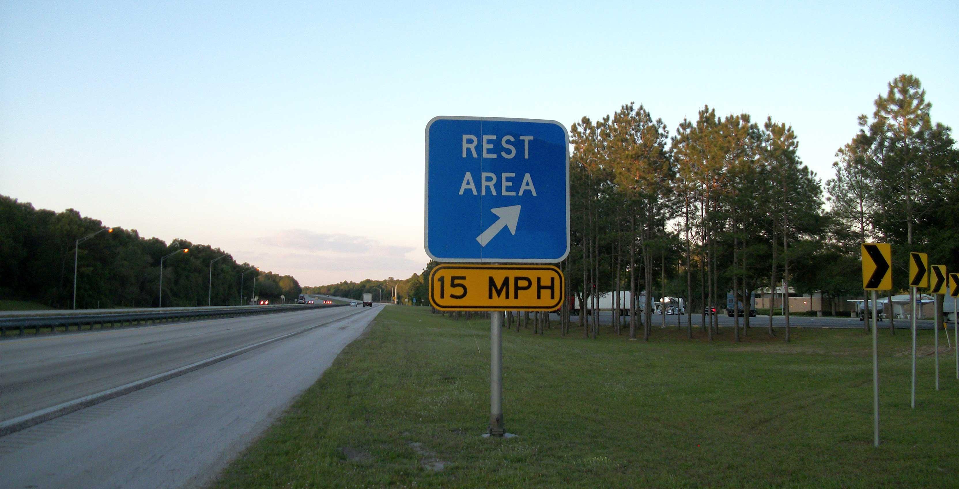 highway rest area