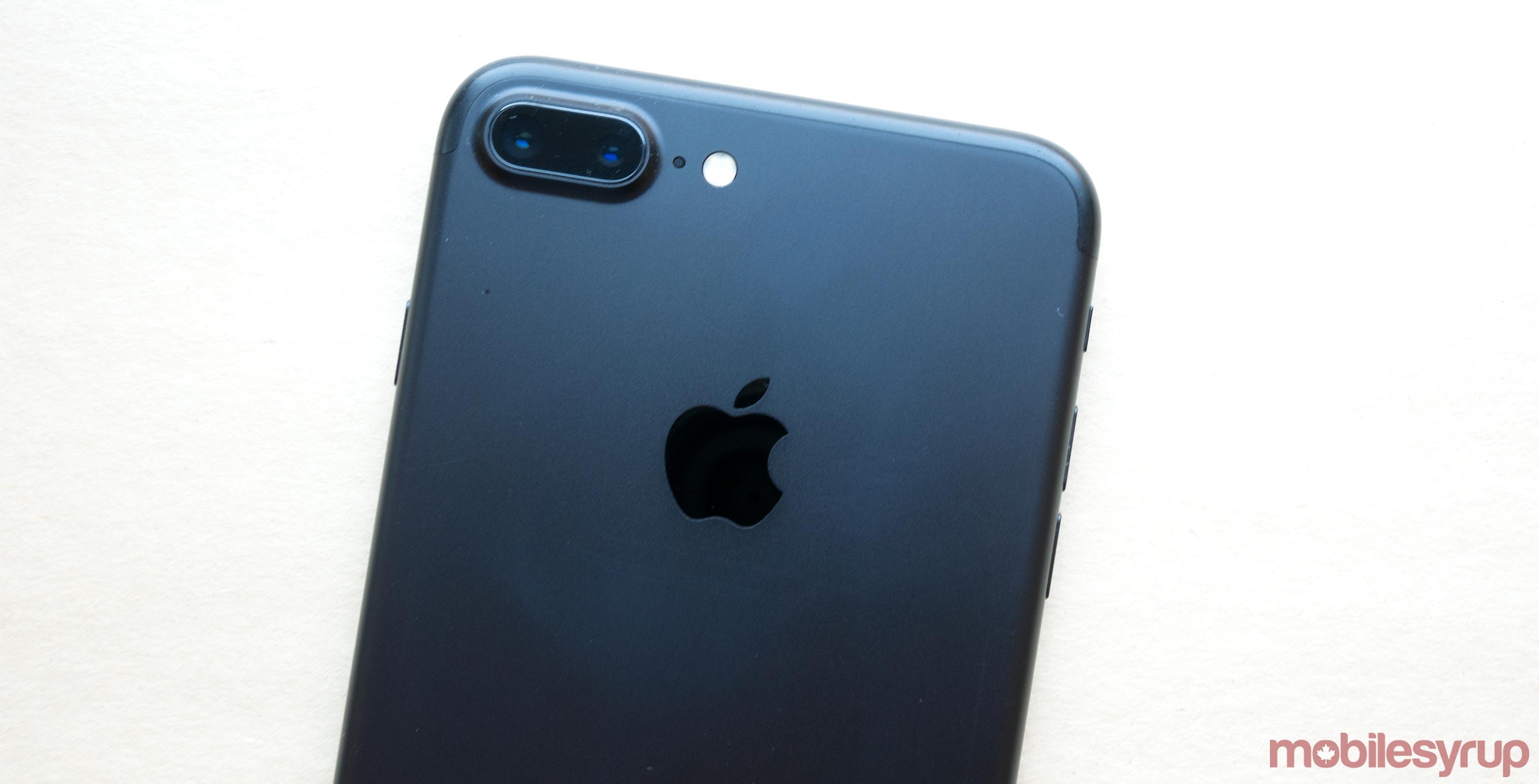 iPhone 7 Plus back