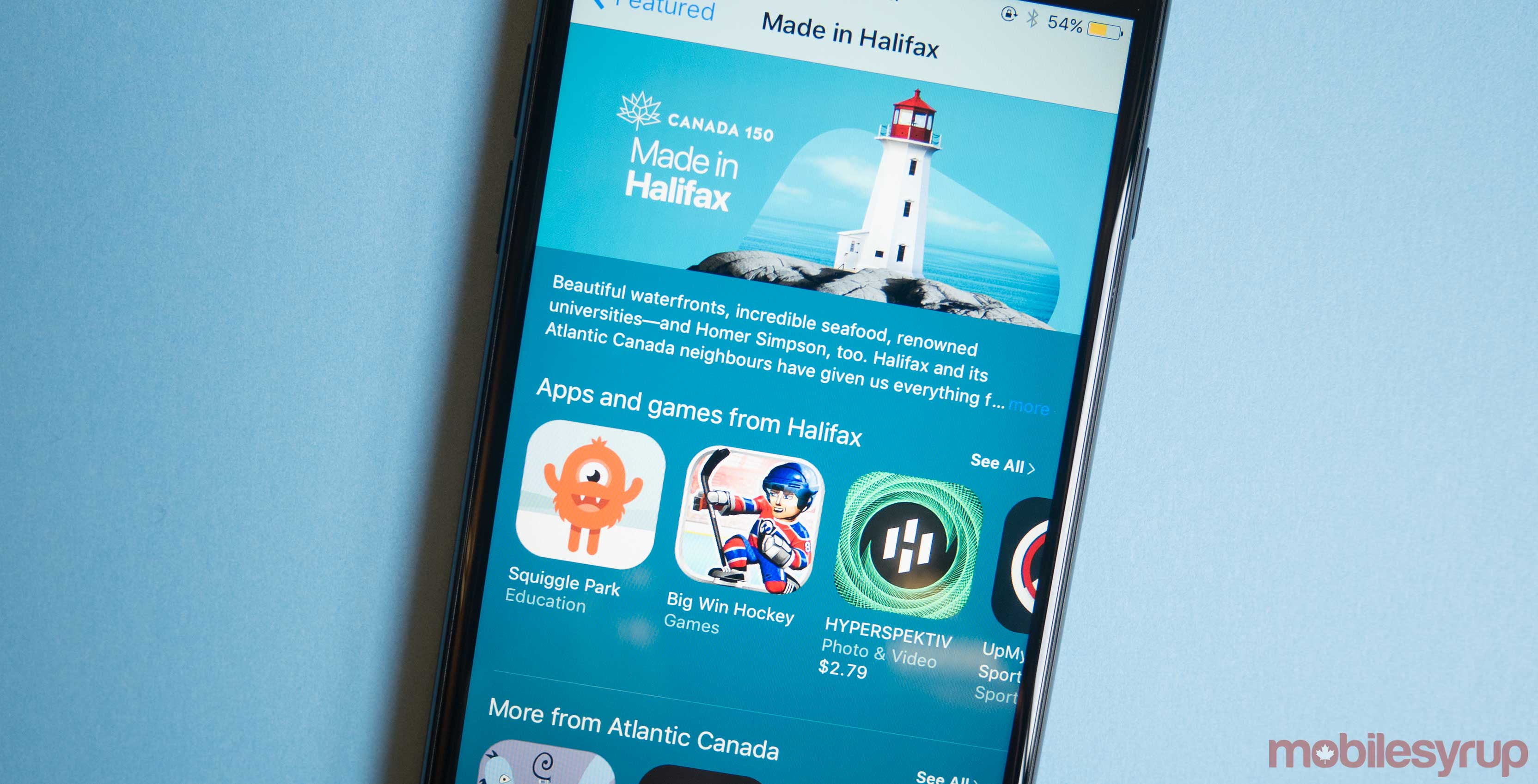 App Store Made in Halifax