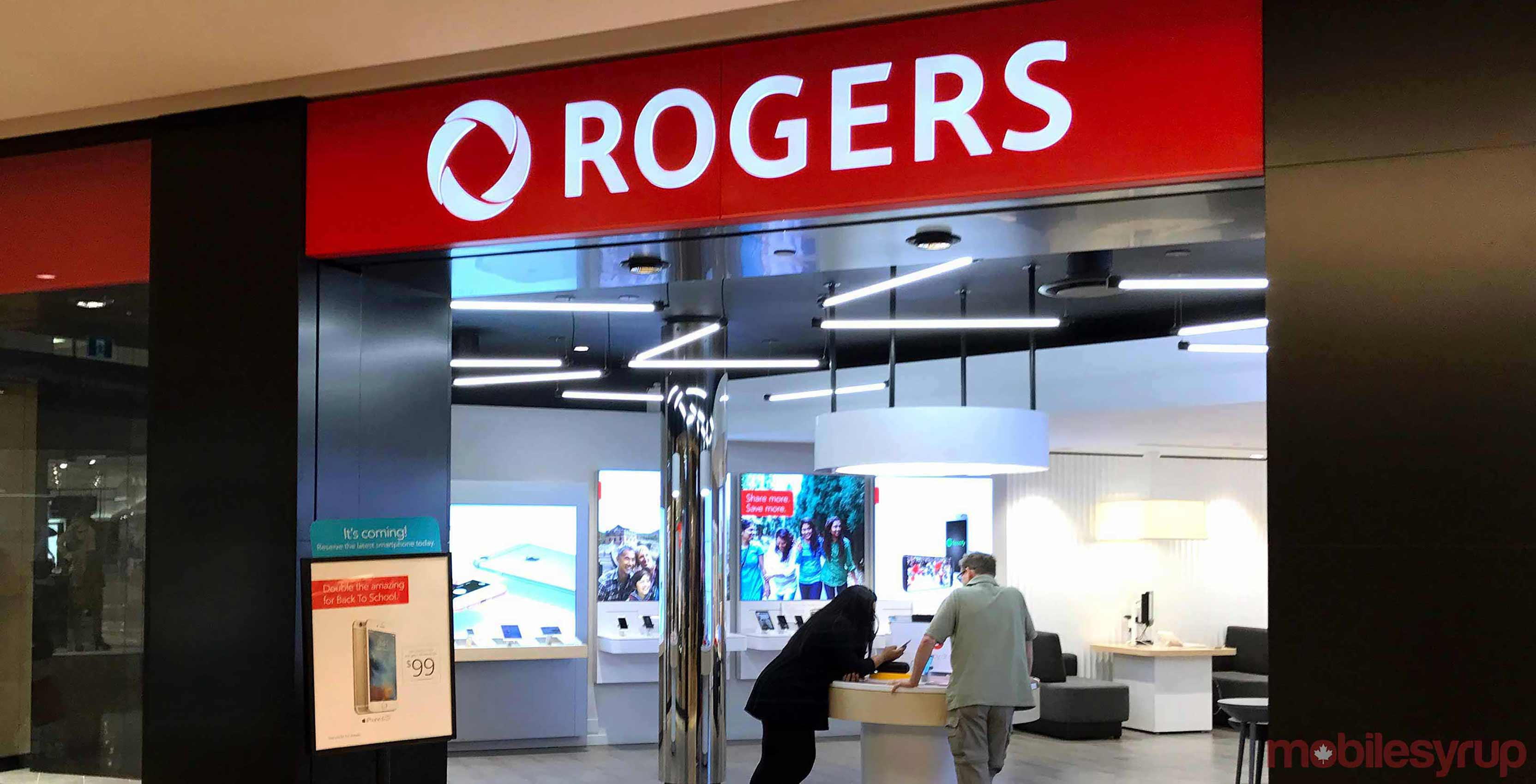 Rogers storefront