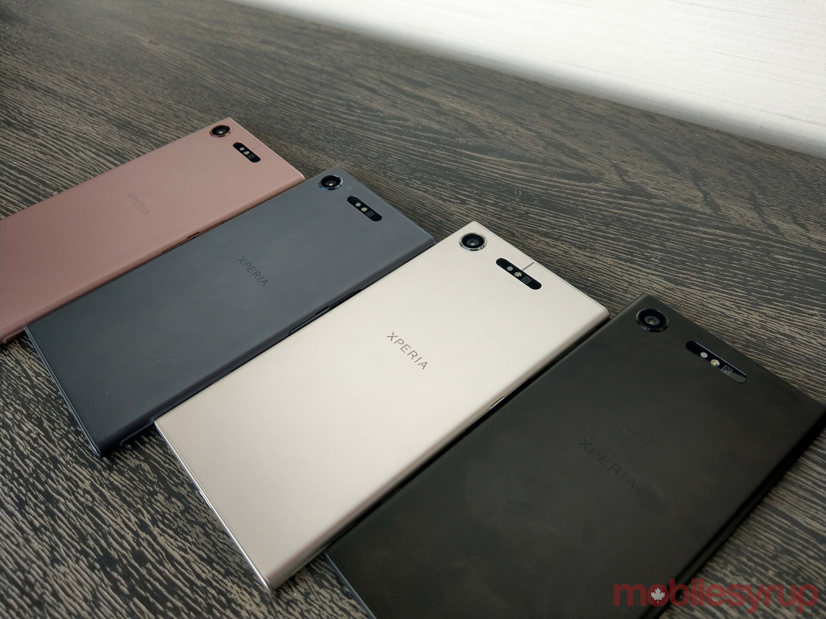 All of the XZ1's colours