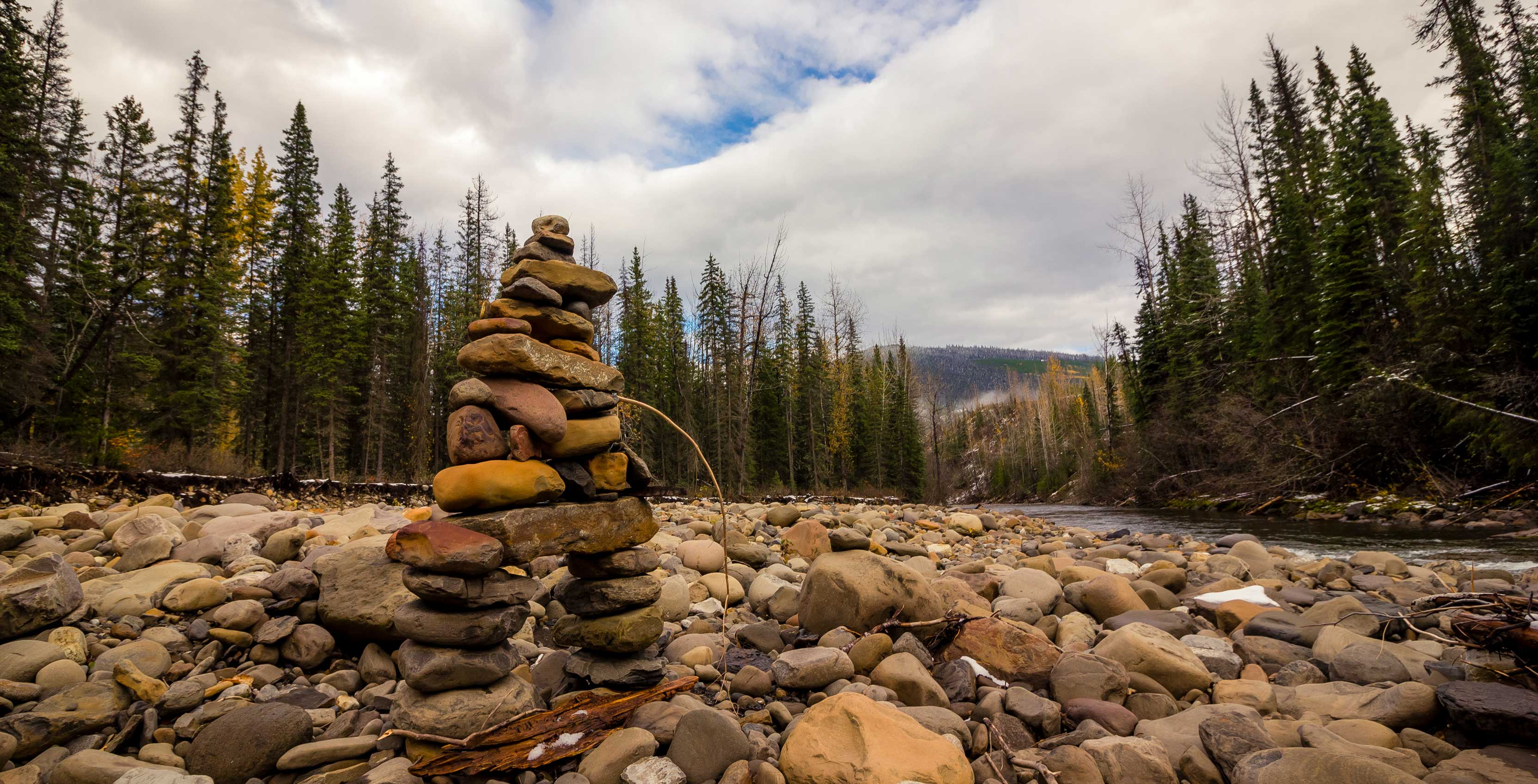 An image of an inuksuk