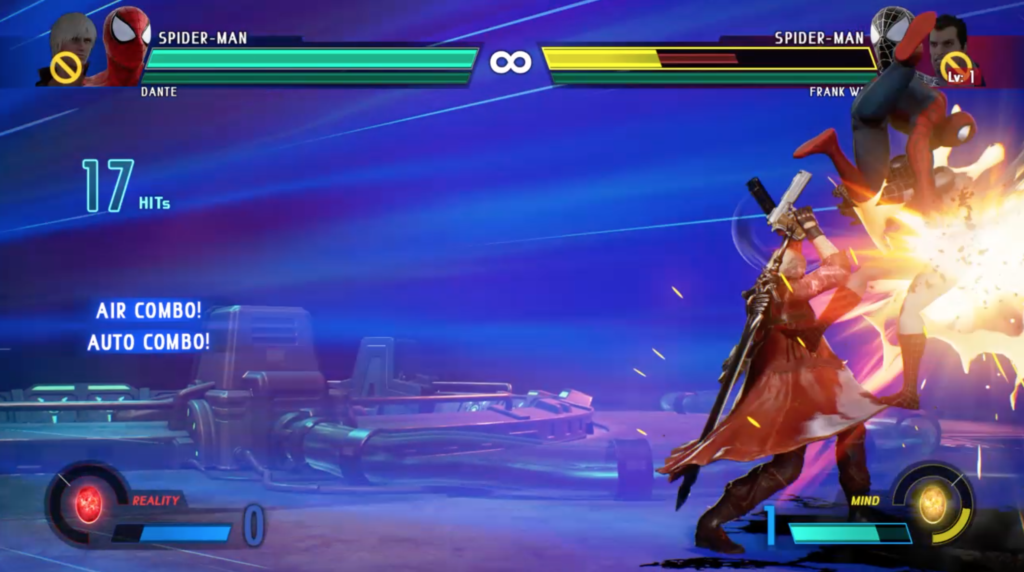 Marvel vs. Capcom Infinite Dante and Spider-Man