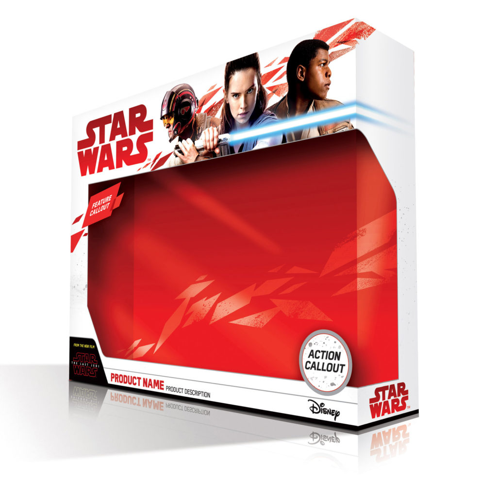 Star Wars Force Friday packaging