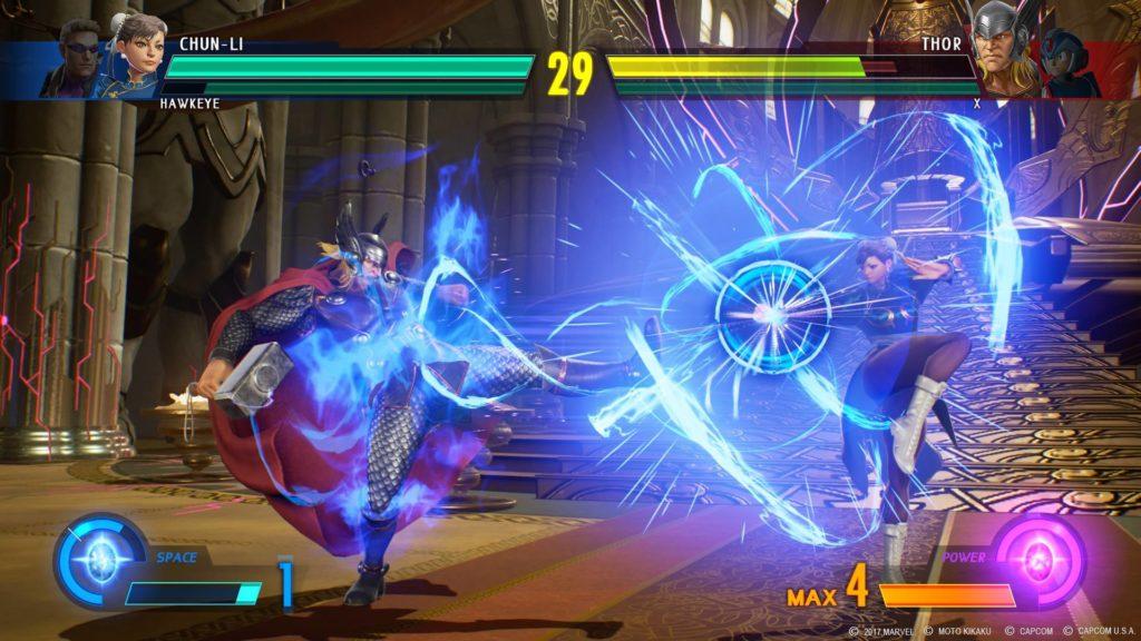 Chun-Li vs Thor