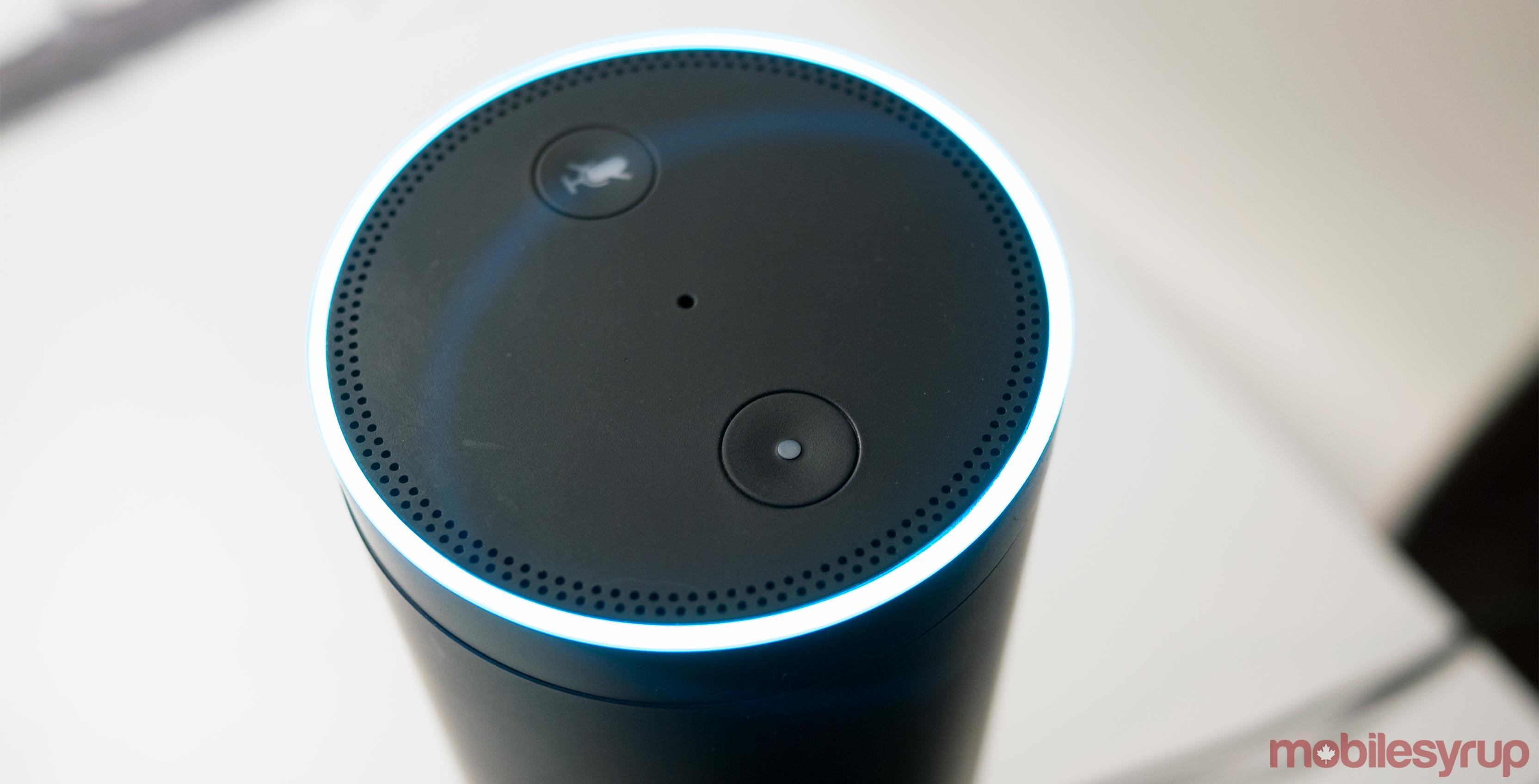 Amazon Alexa on a Amazon Echo