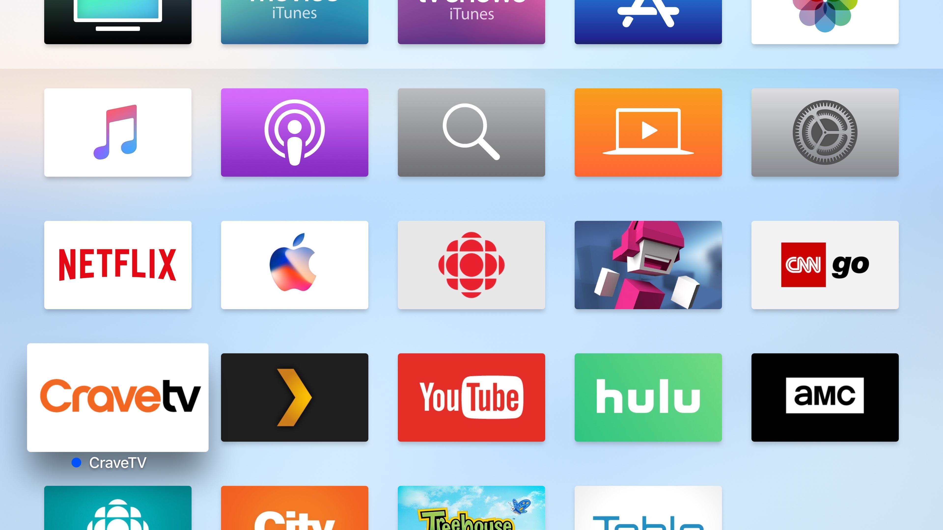 Apple TV 4K UI screenshot