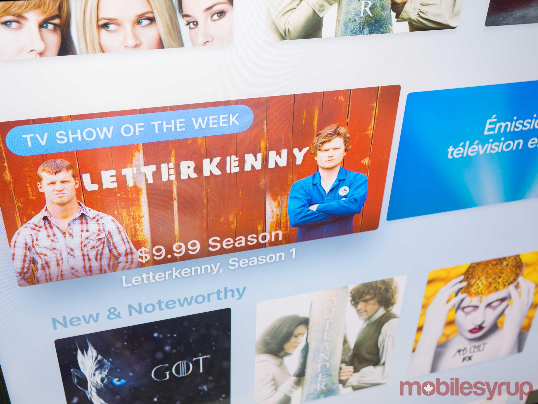 Apple TV 4K TV App