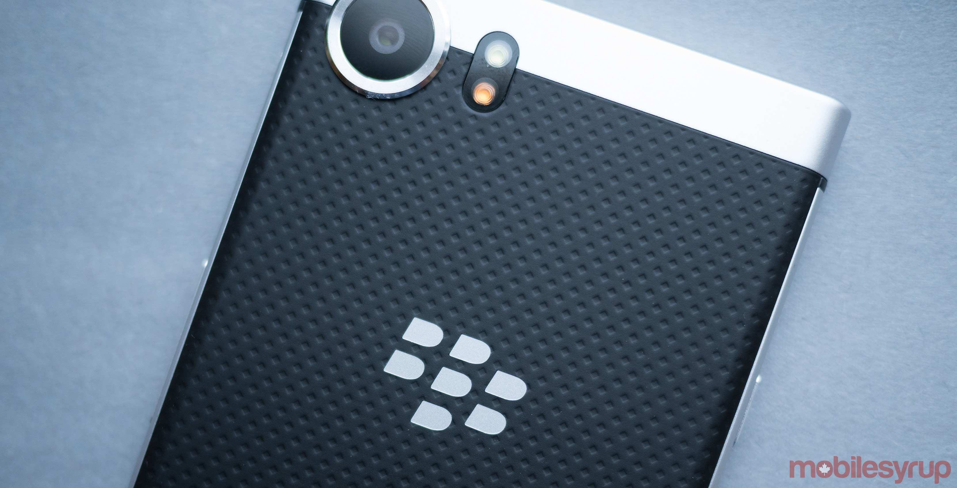 BlackBerry log on device