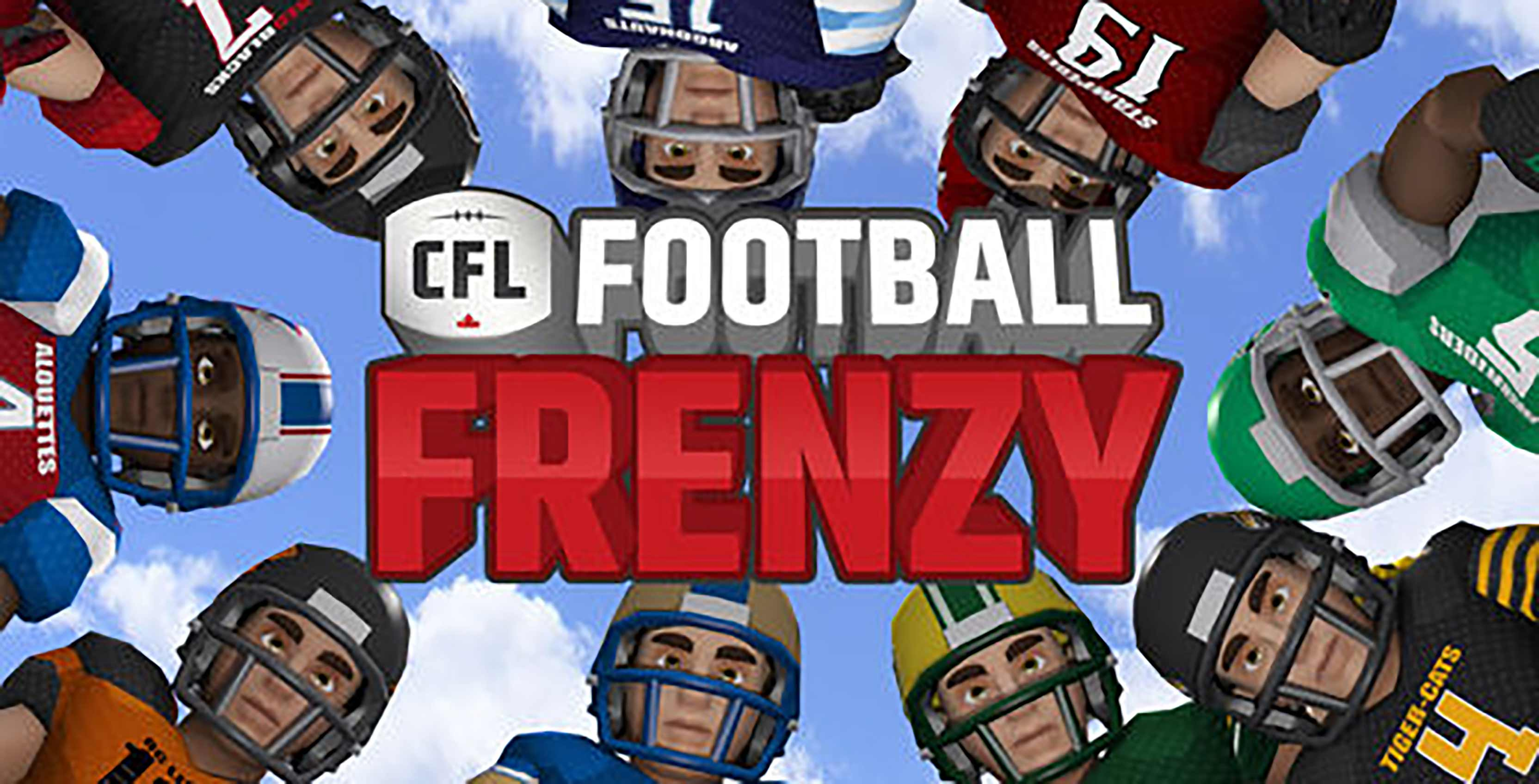 CFL football frenzy which features football avatars