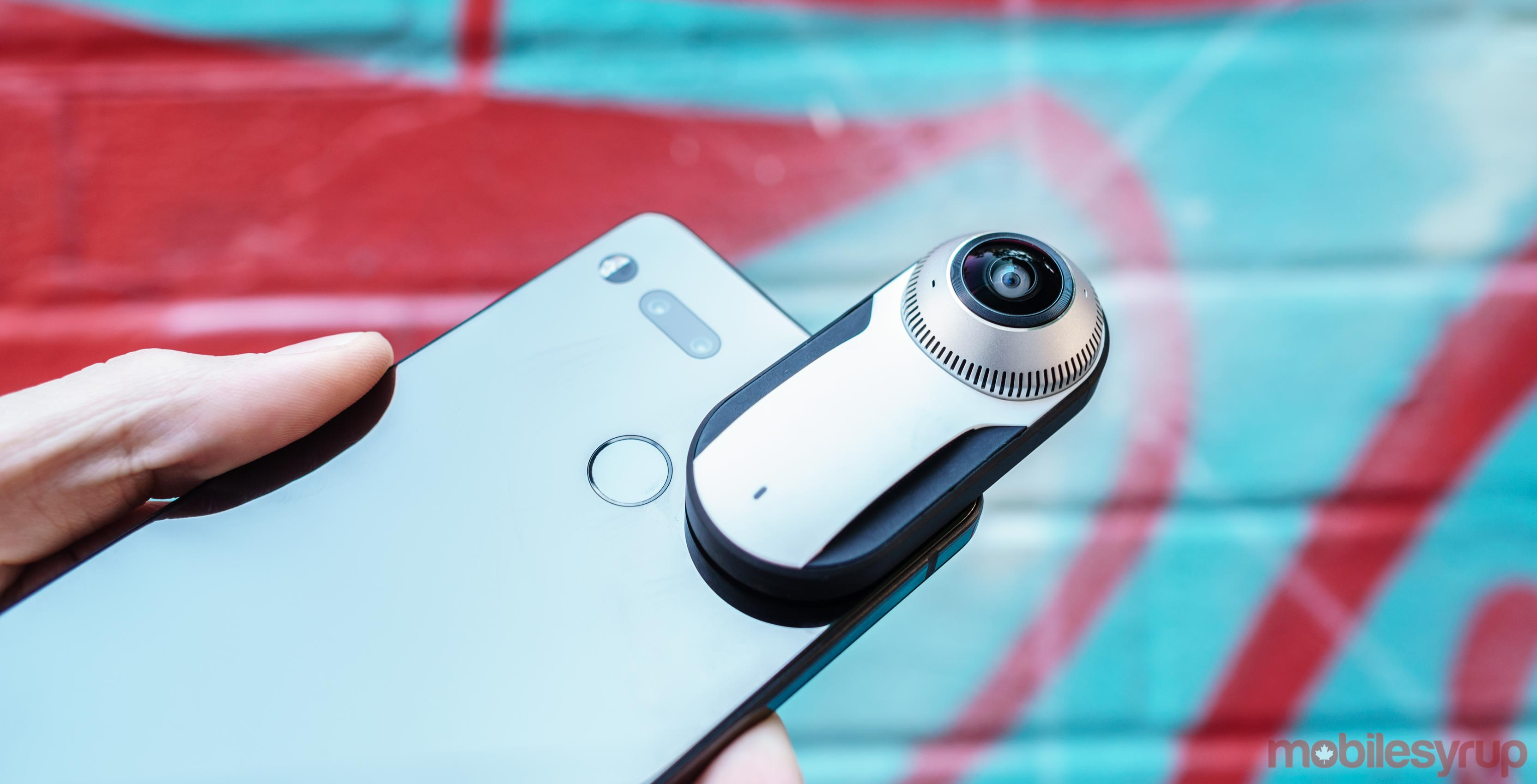 Essential Phone with Essential 360 Camera