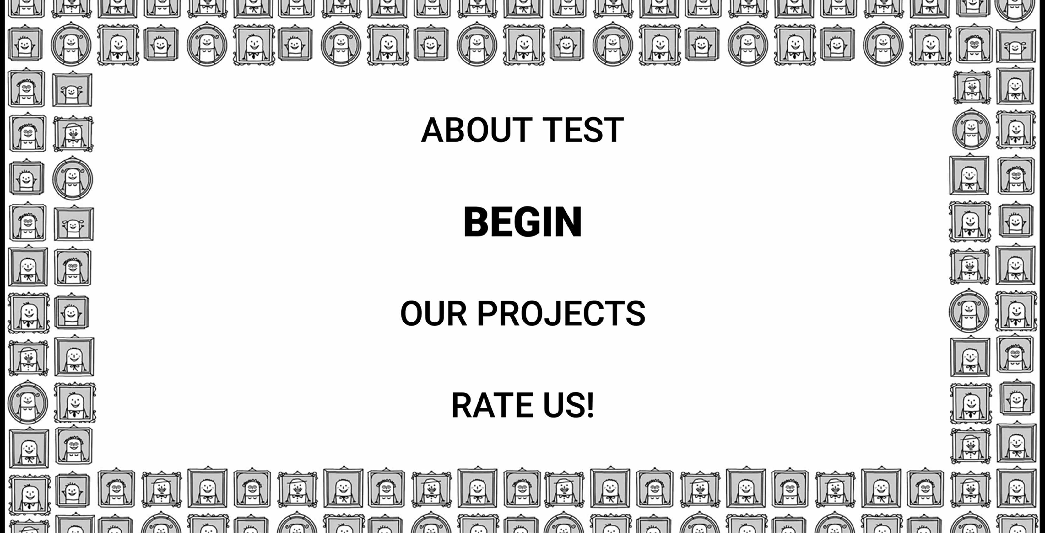 hidden personality app to start test