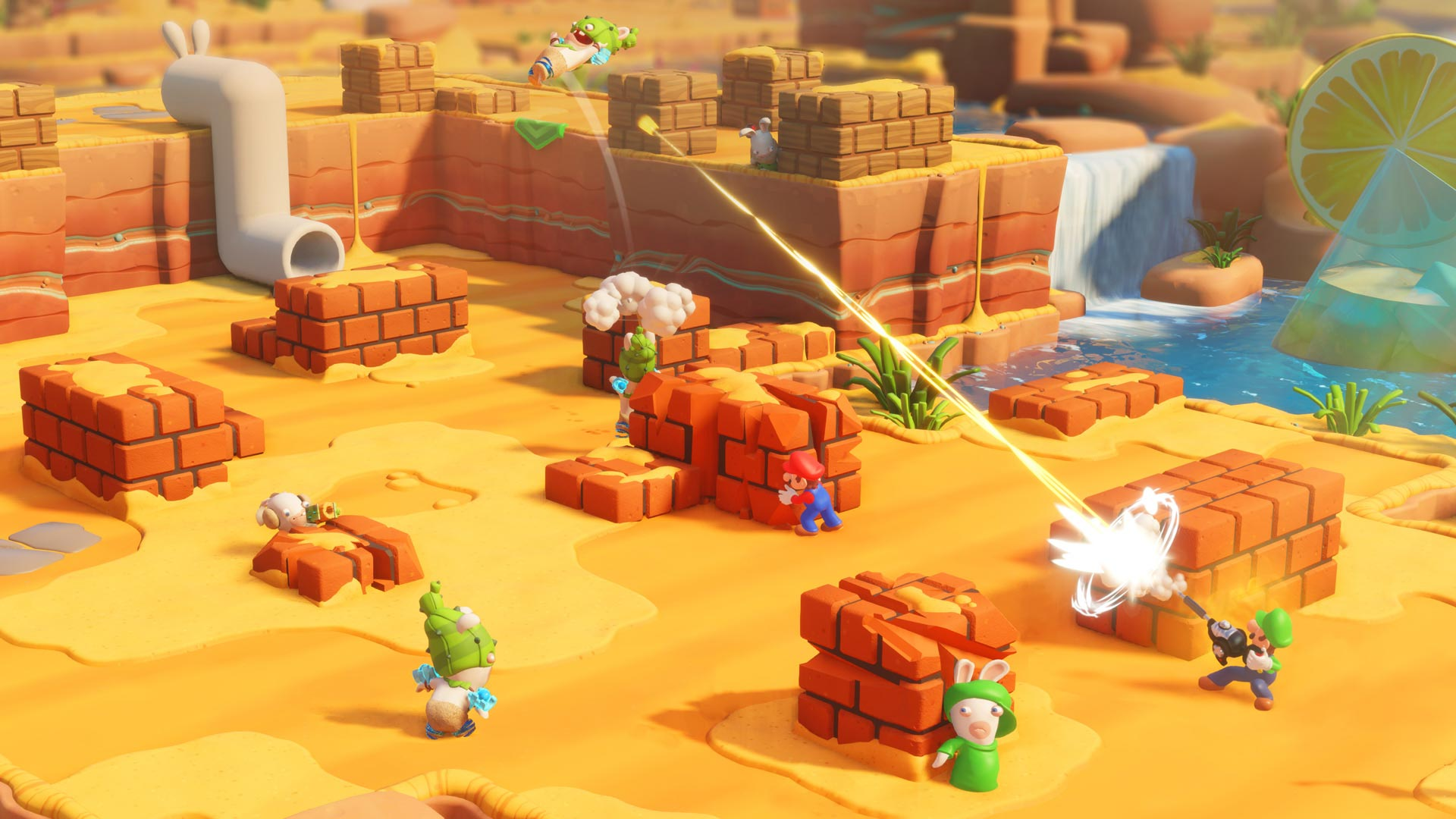 Mario+Rabbids screenshot
