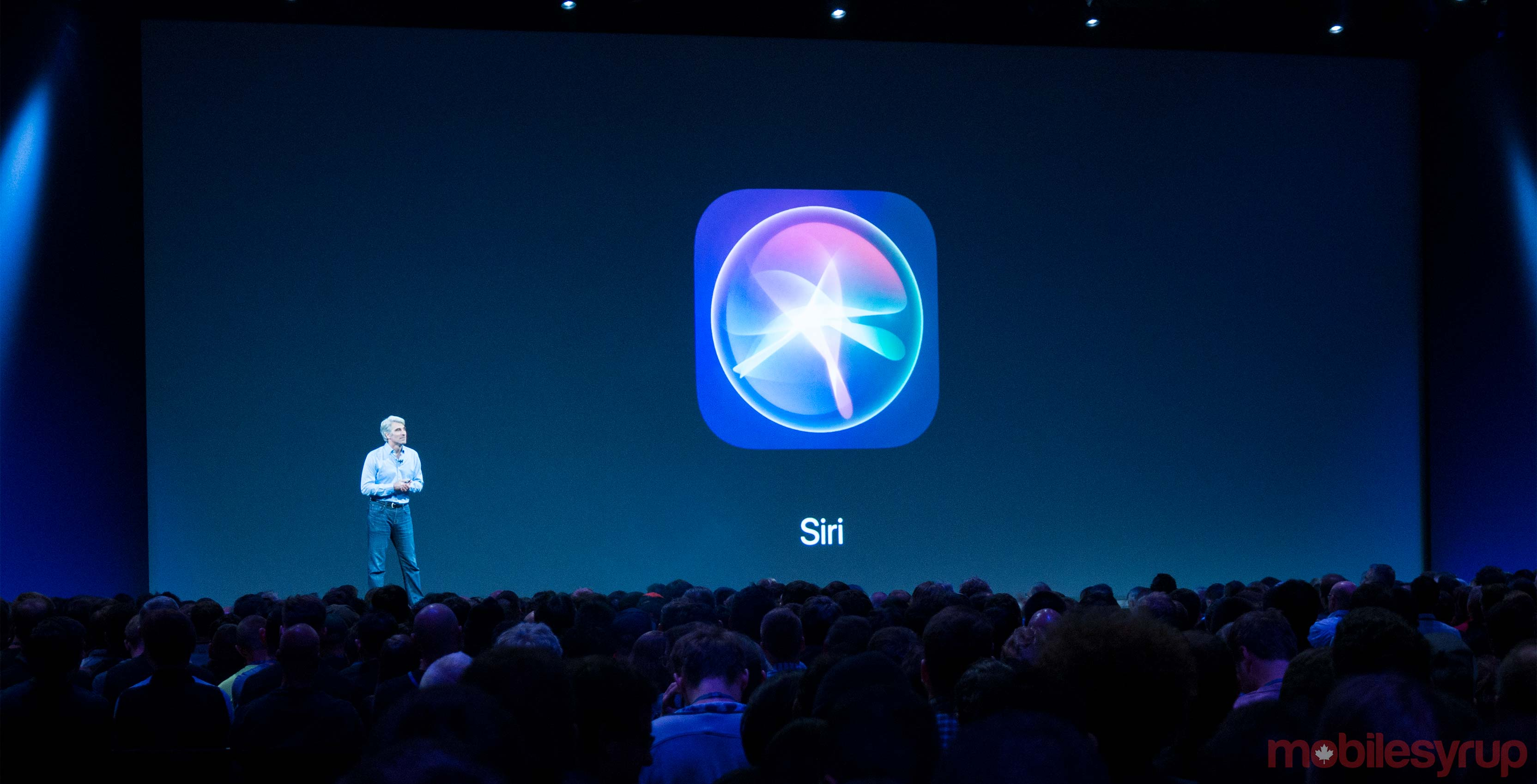 Siri at iOS conference