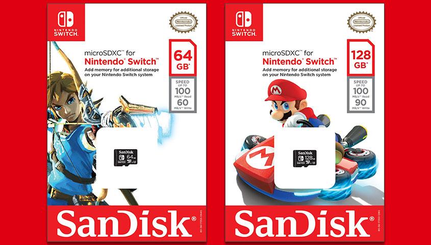 Nintendo Switch SD Cards