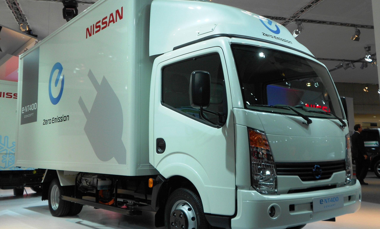 Nissan zero emission truck
