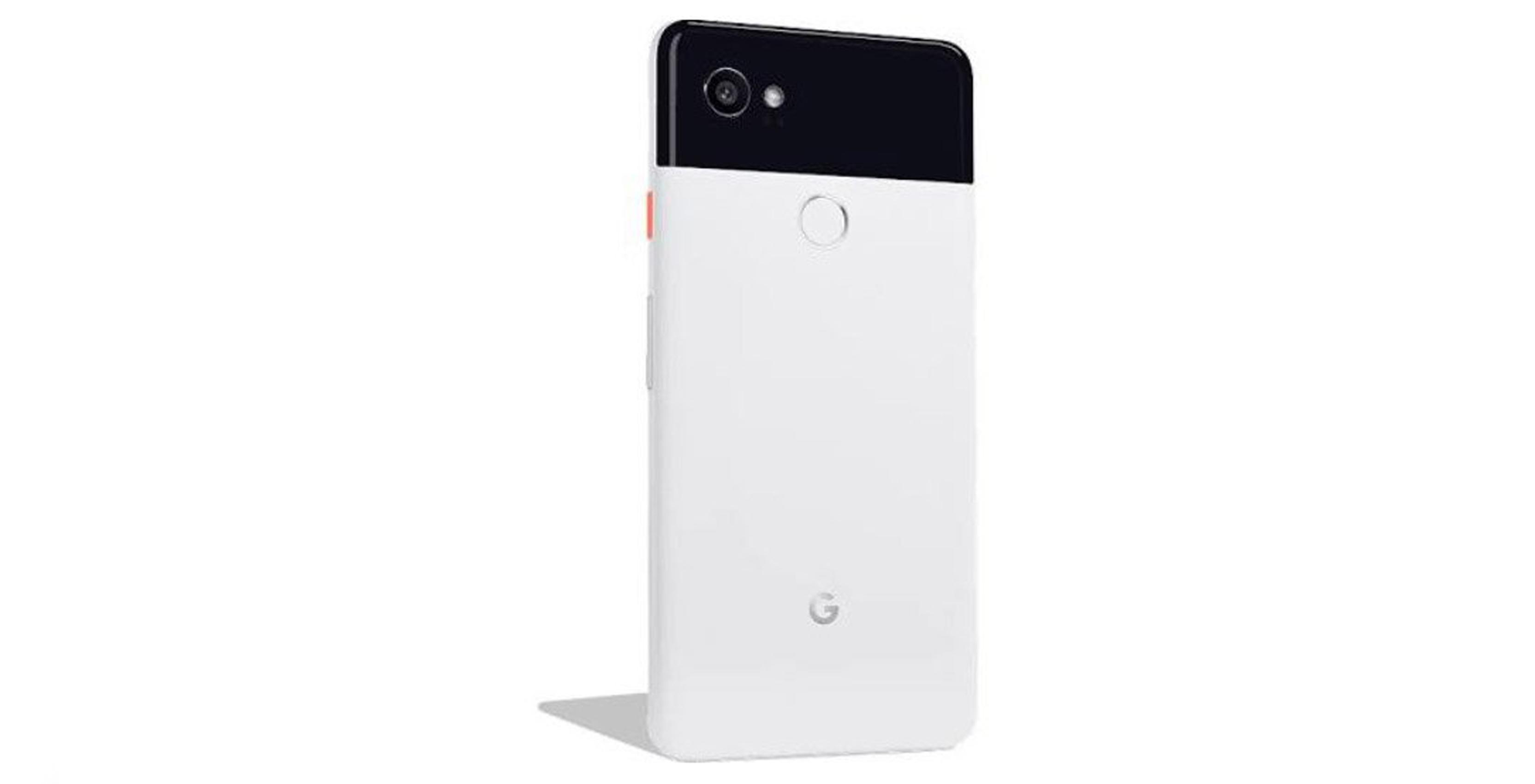 Leaked render of Pixel 2 XL smartphone