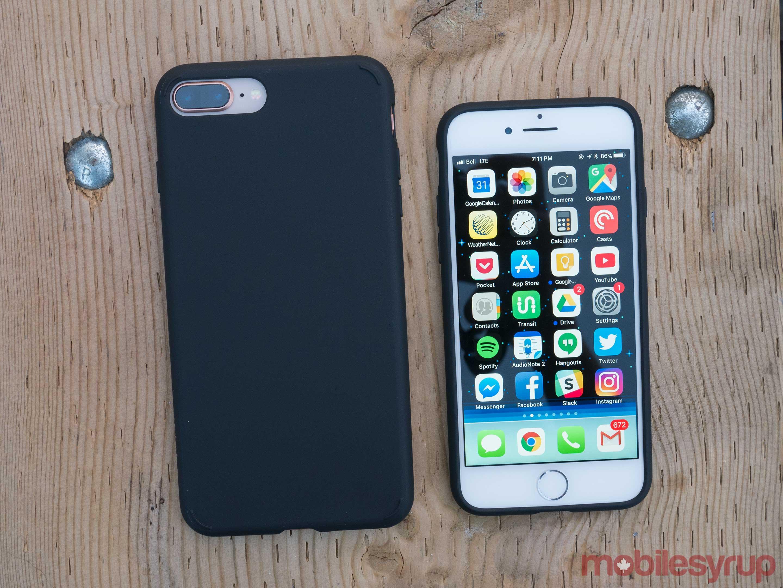 Spigen iPhone 8 Liquid Crystal