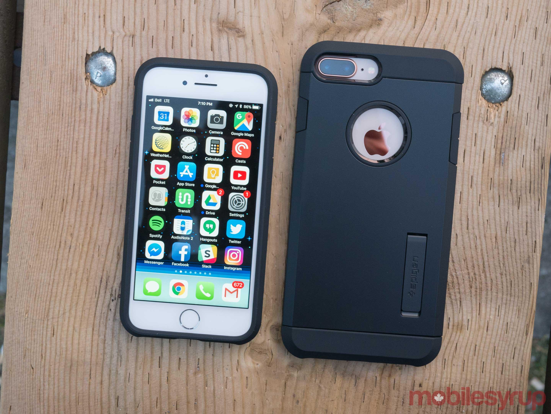 Spigen Tough Armor 2 case for iPhone 8