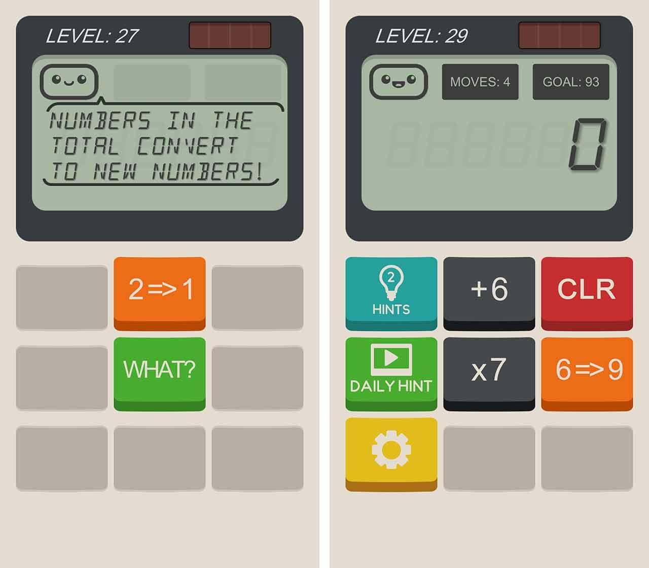 Calculator the game