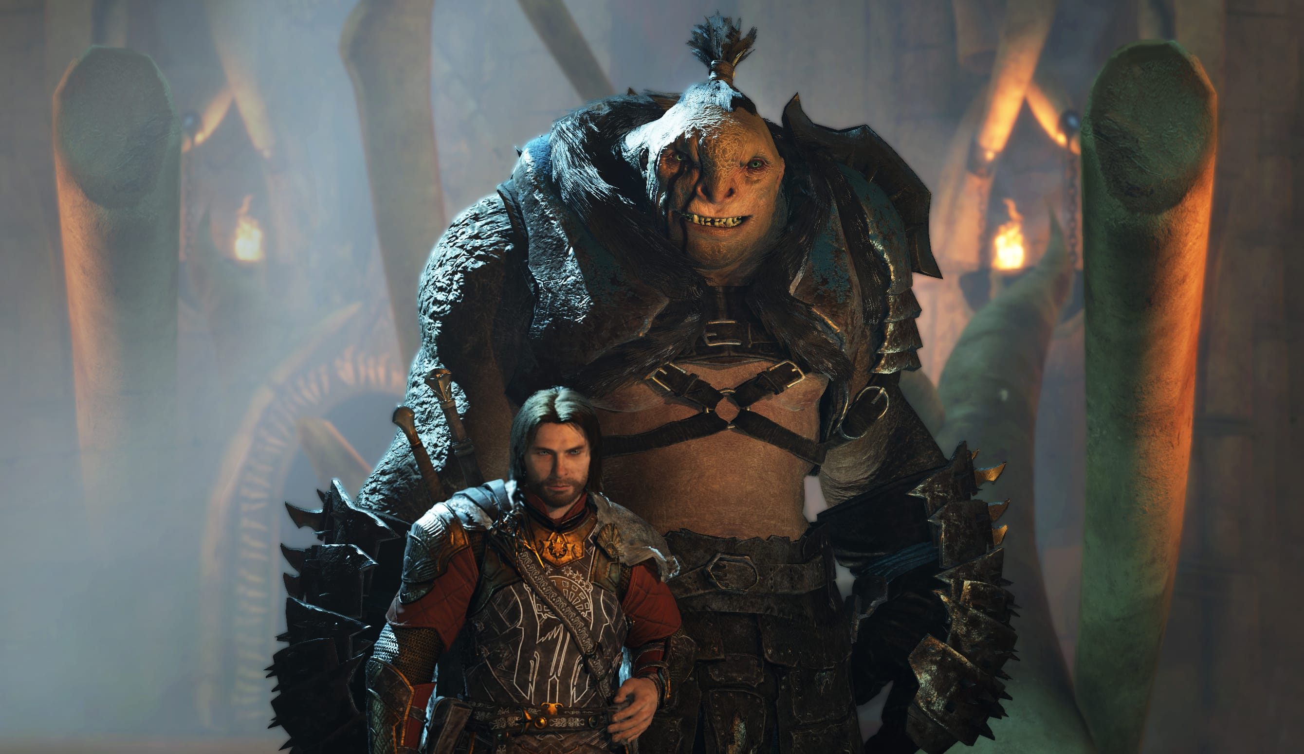 Talion and orc